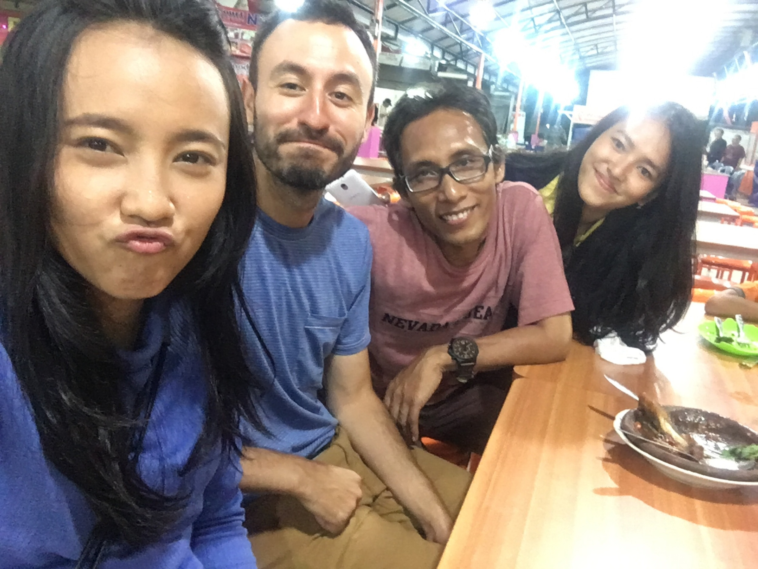Meeting more friends before leaving Java and Indonesia