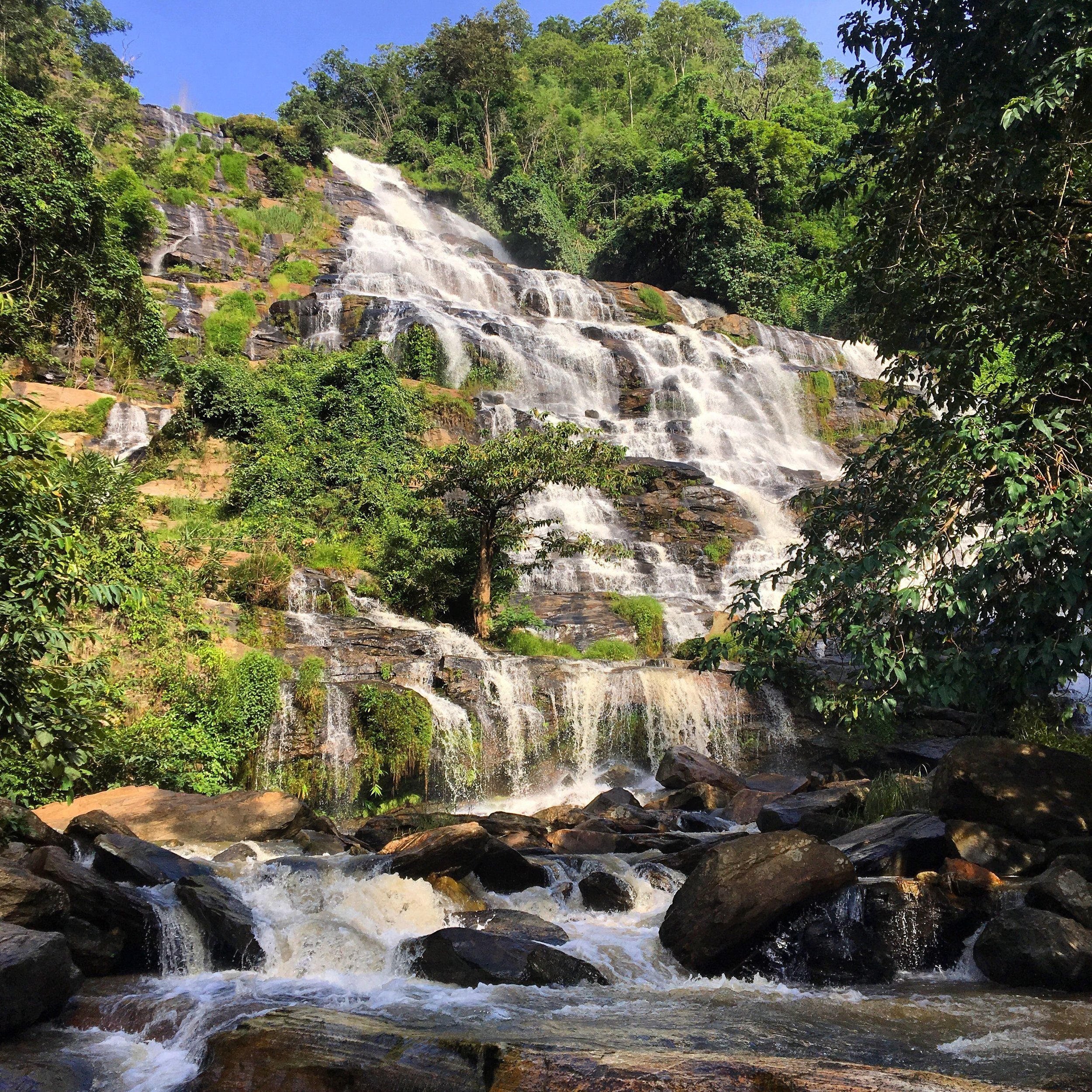 Another Doi Inthanon National Park waterfall