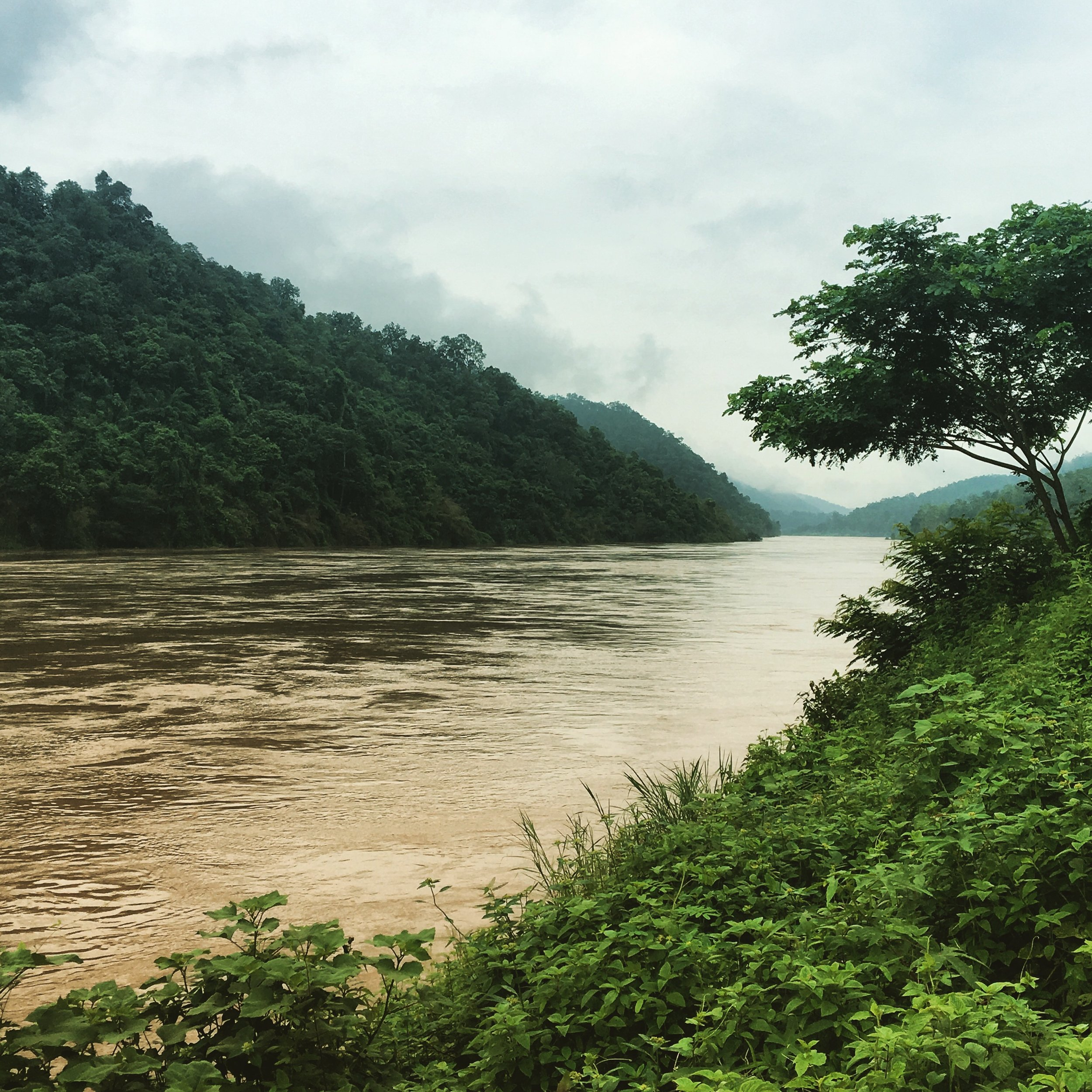 The Salawin River - between Thailand and Myanmar