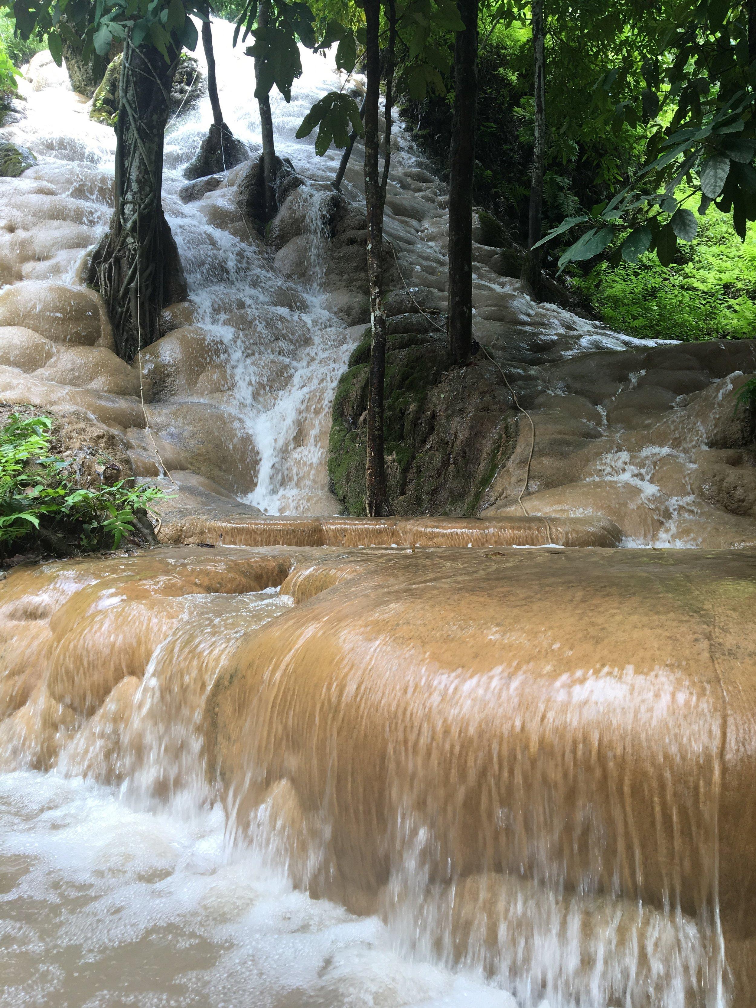 The odd Sticky Falls