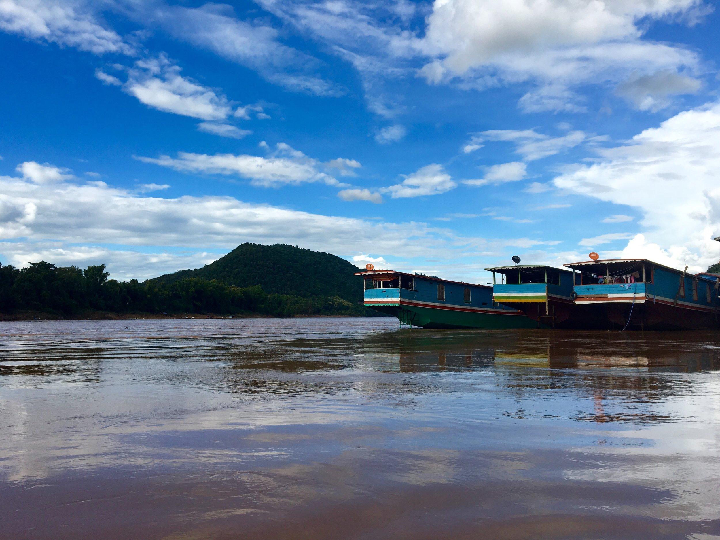 Arriving in Luang Prabang