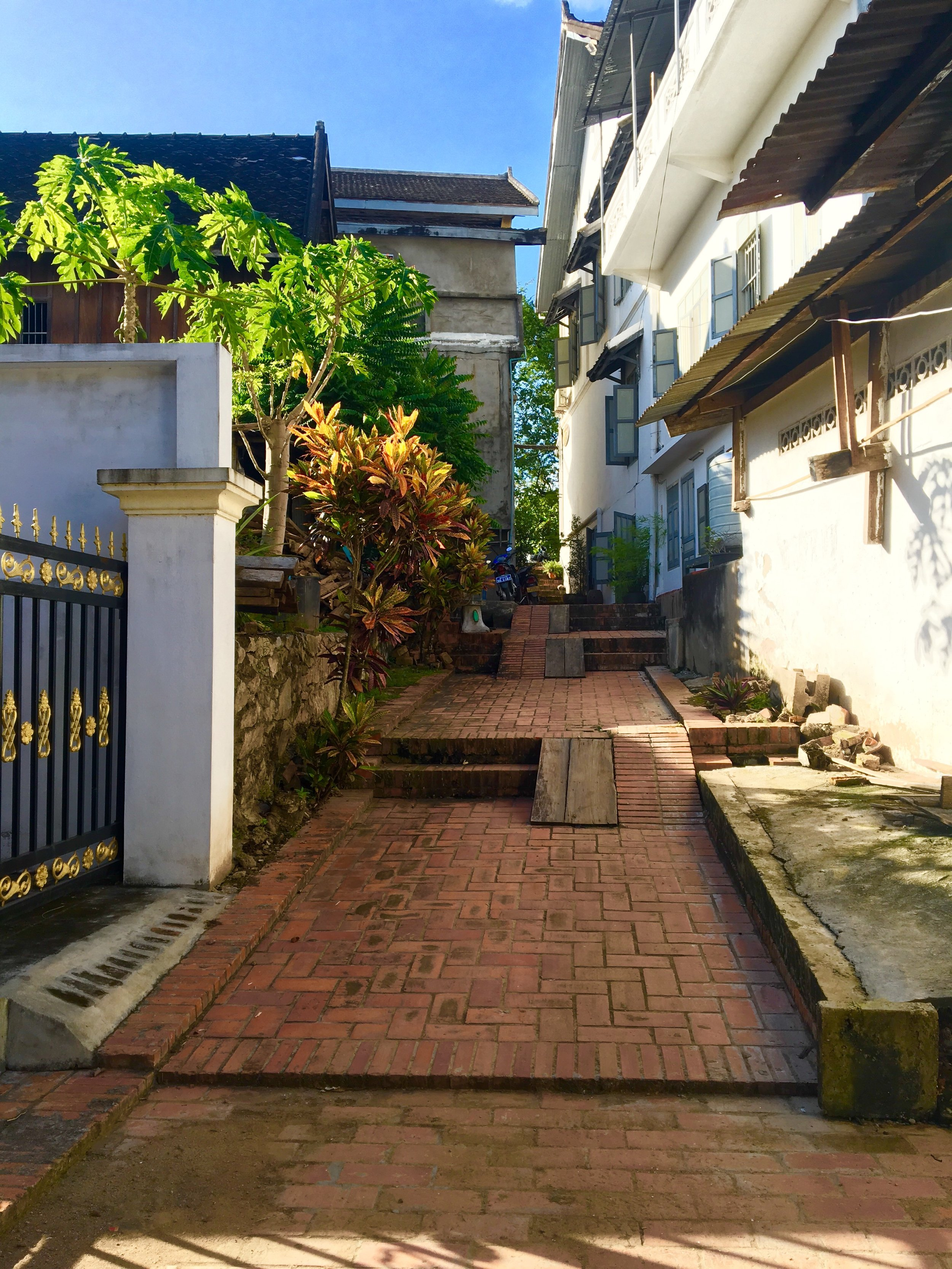 A little alley in Luang Prabang