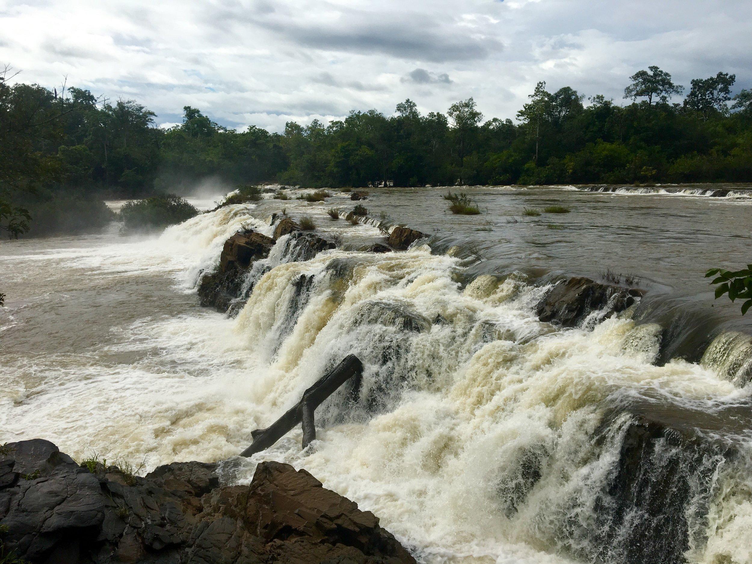 Waterfalls starting to get bigger