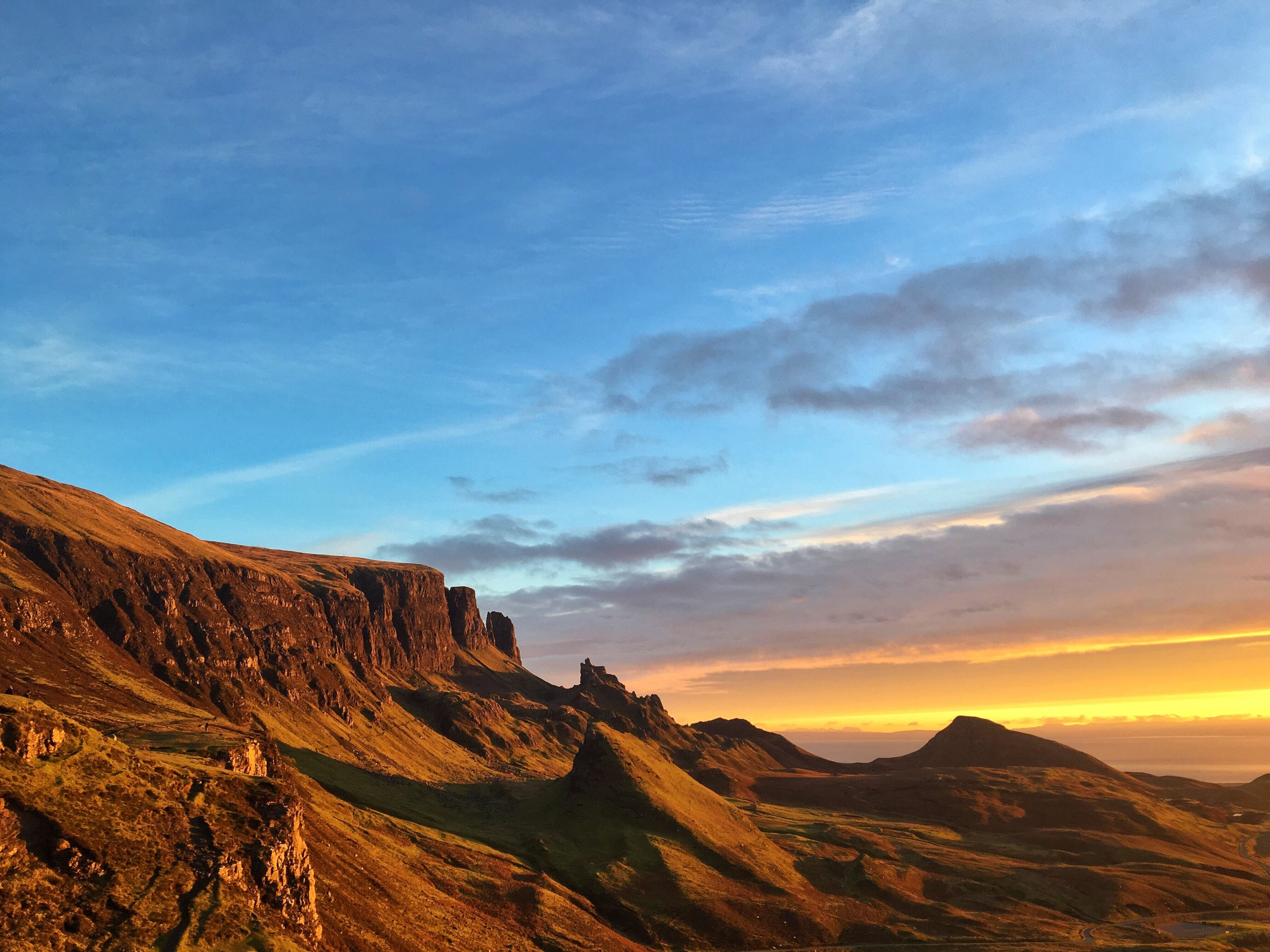 Sunrise at The Quiraing