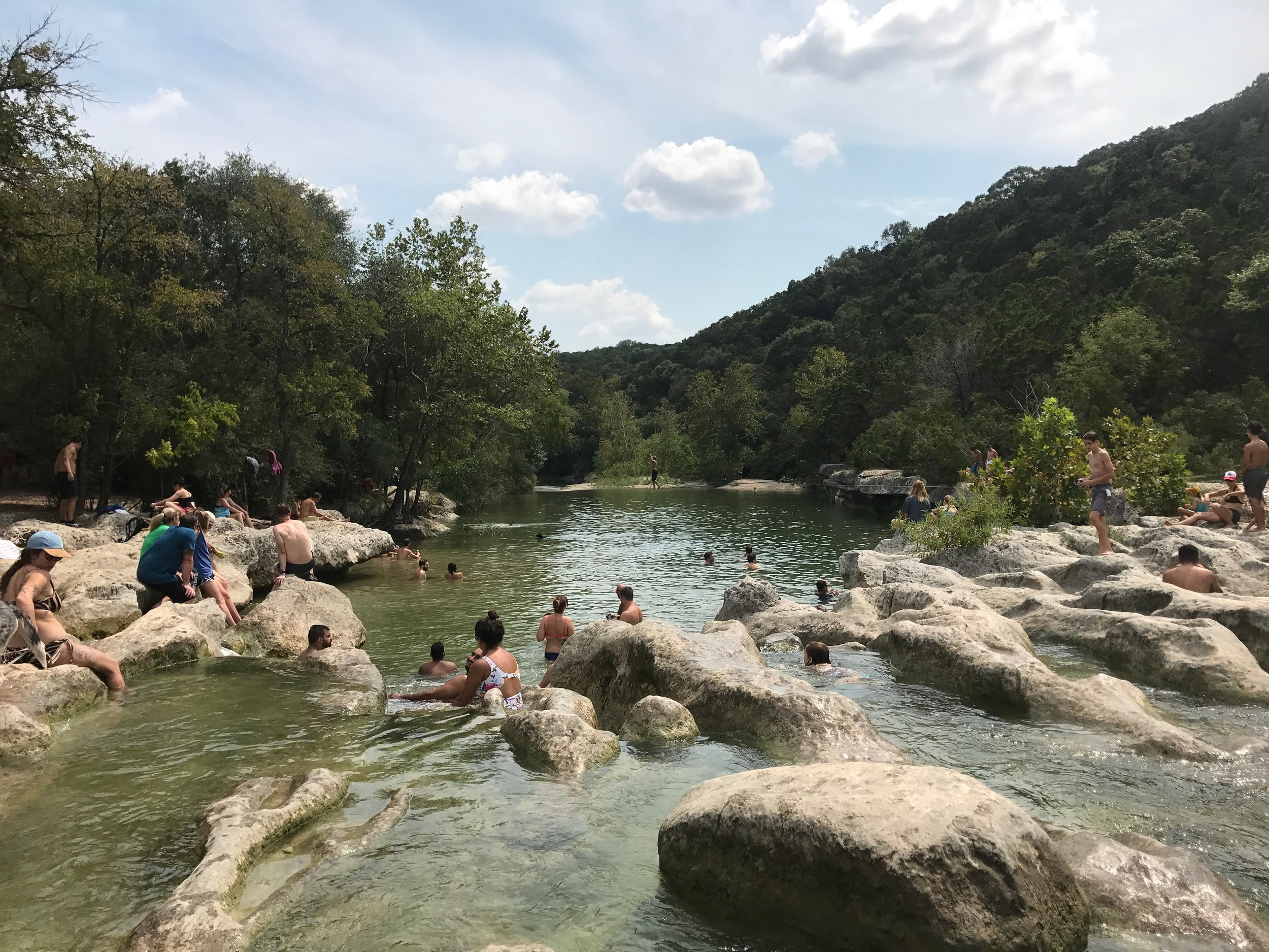 A classic Austin early summer day