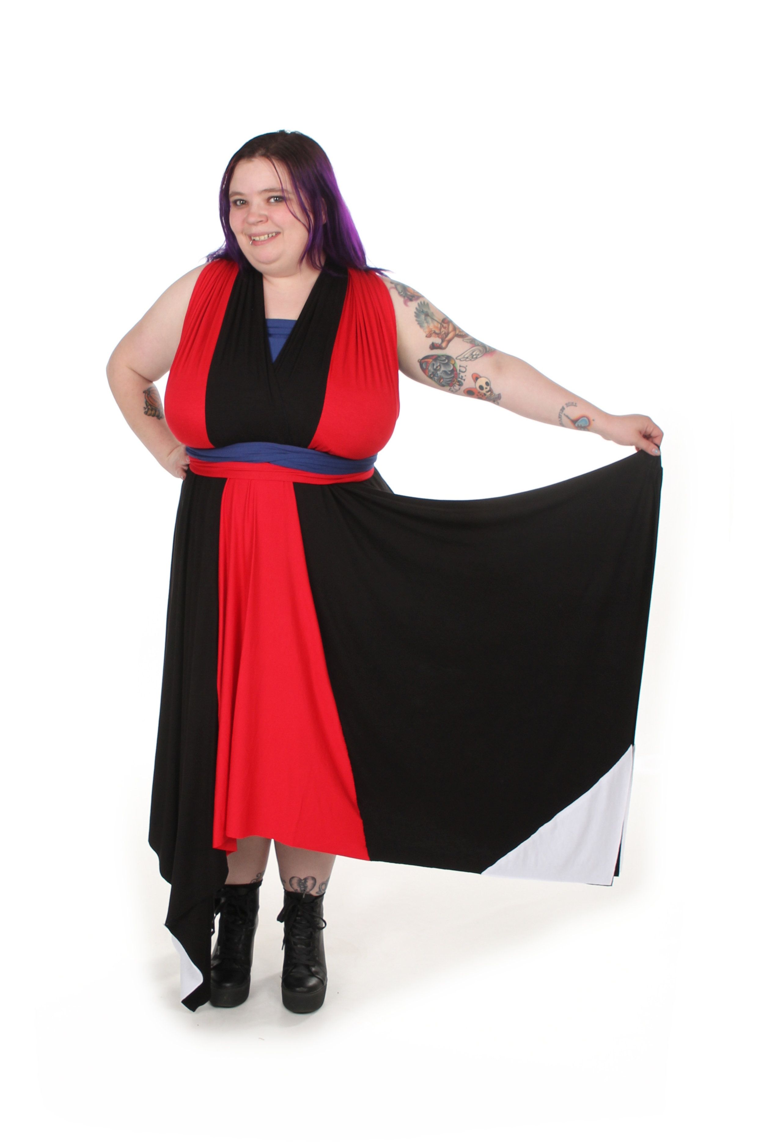 Teleporting Mutant Inspired Convertible Dress