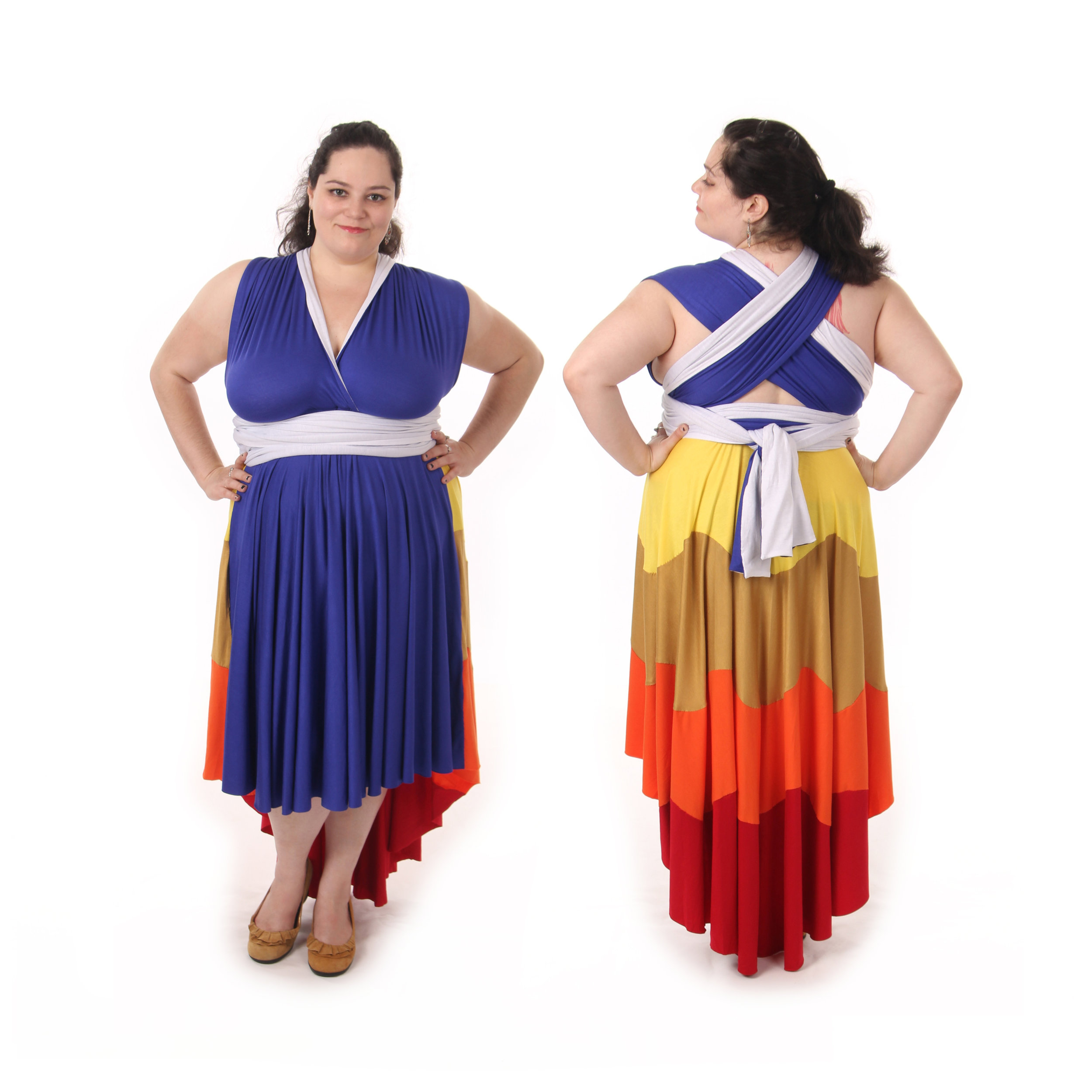 Flaming Hero Inspired Convertible Dress