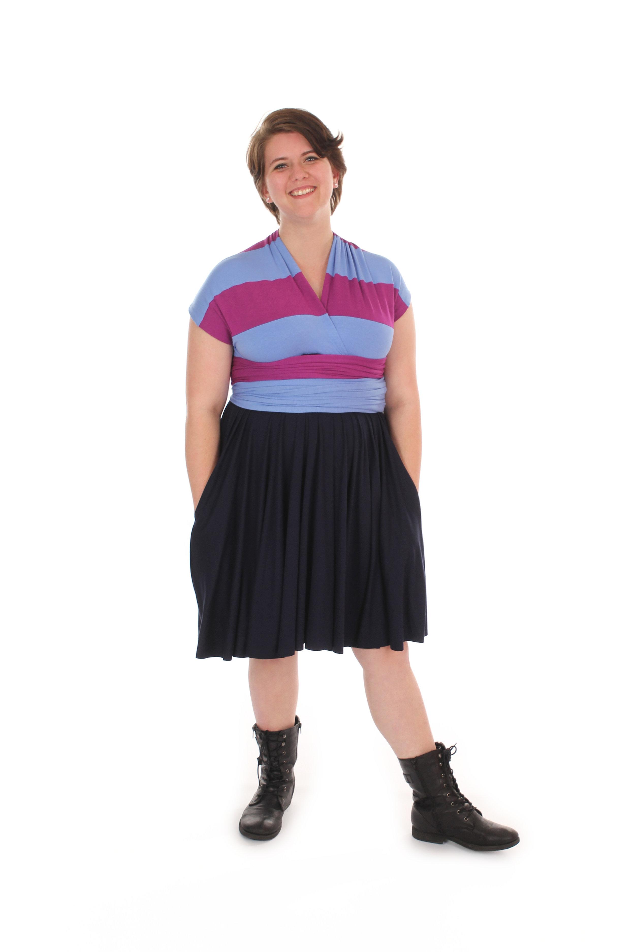 Frisk Inspired Convertible Dress