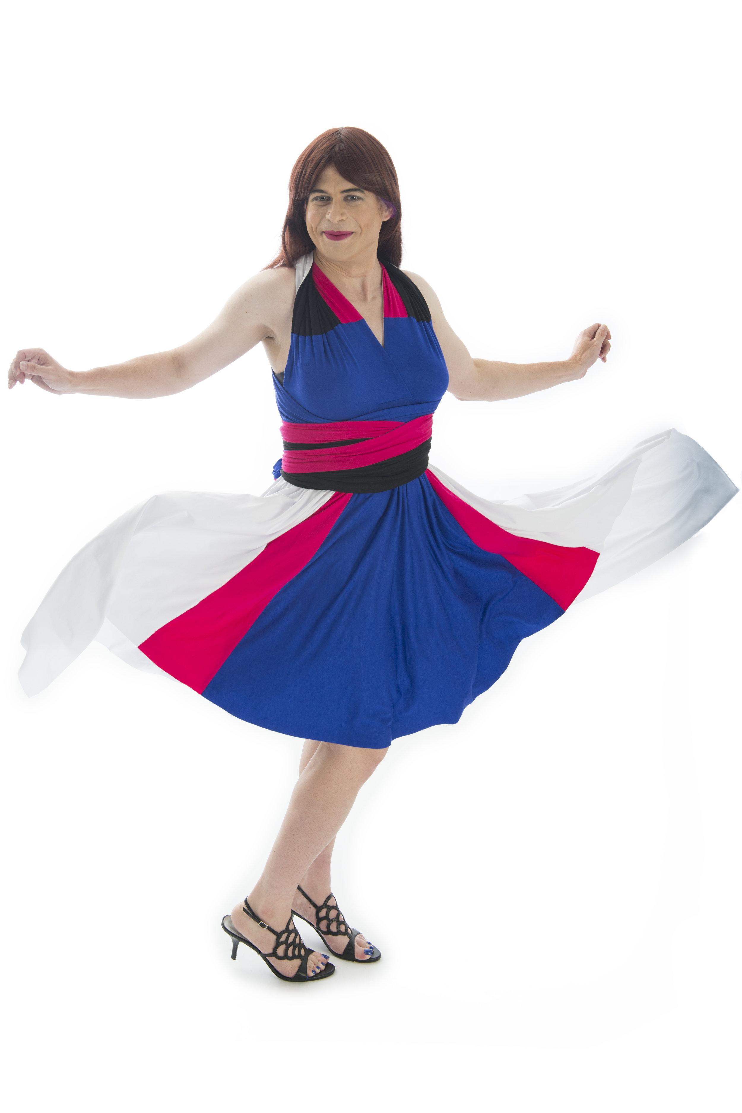 Mech Pilot Inspired Convertible Dress