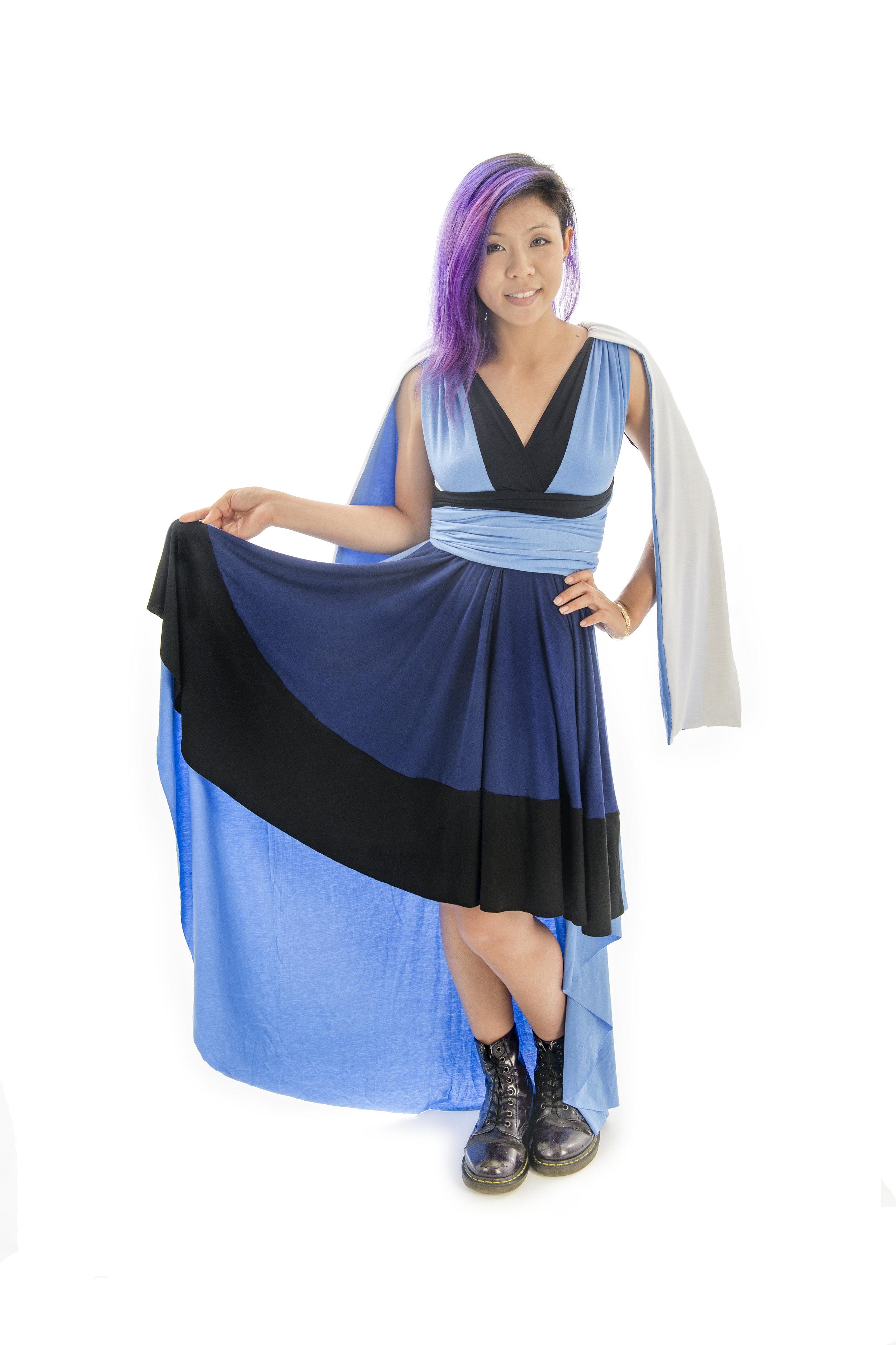 Blaster Edge Wielder Inspired Convertible Dress