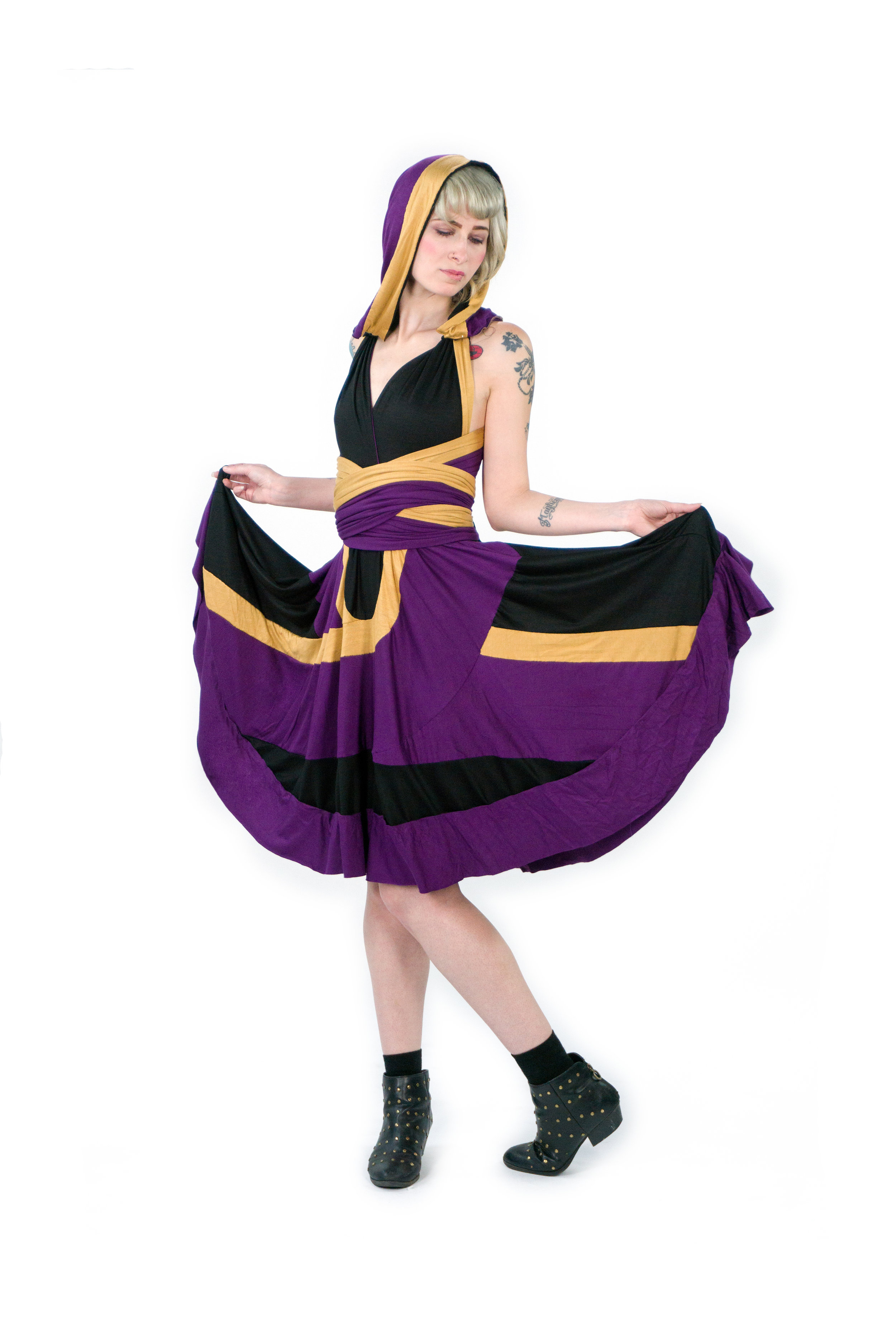 Quarian Machinist Inspired Convertible Dress