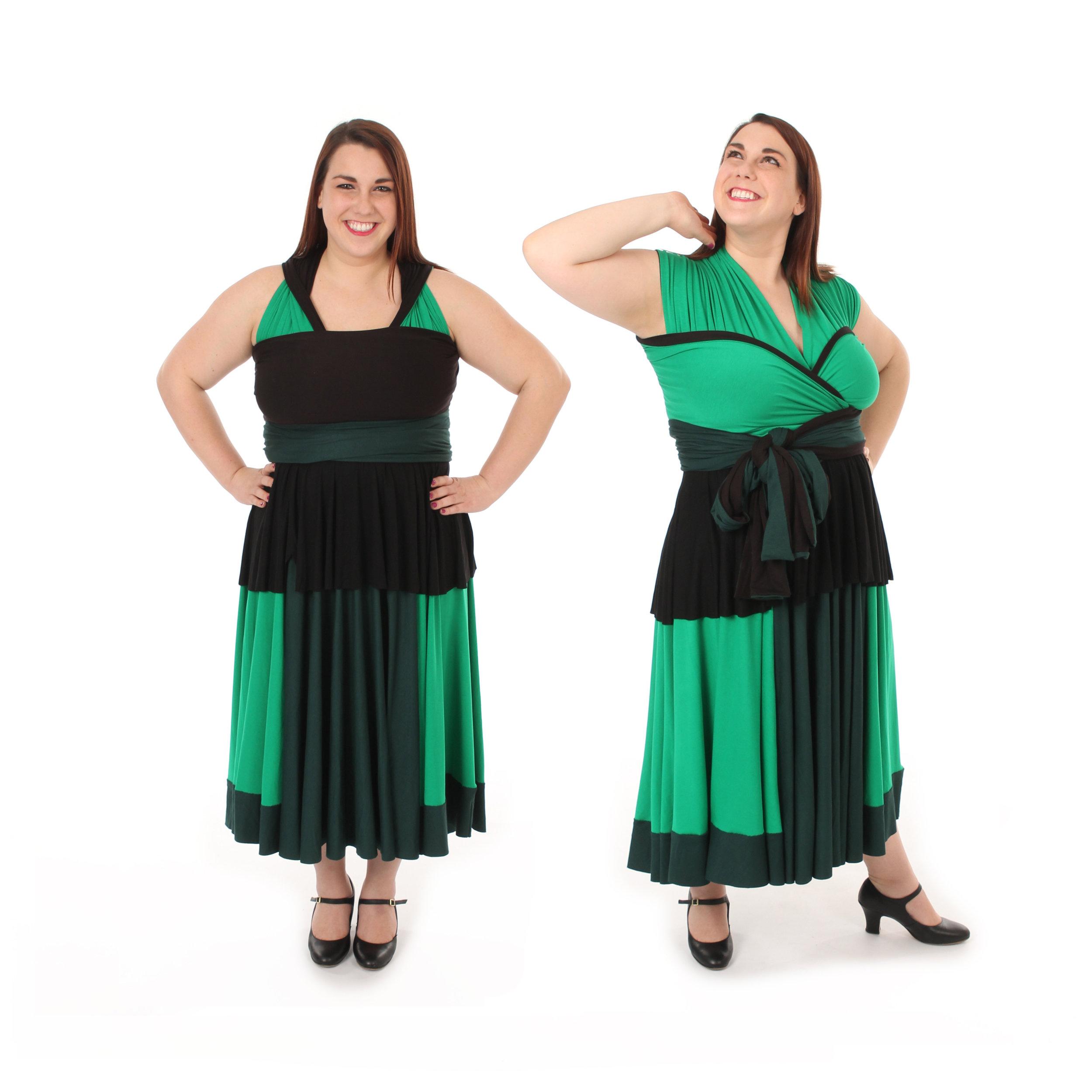 Earth Warrior Inspired Convertible Dress
