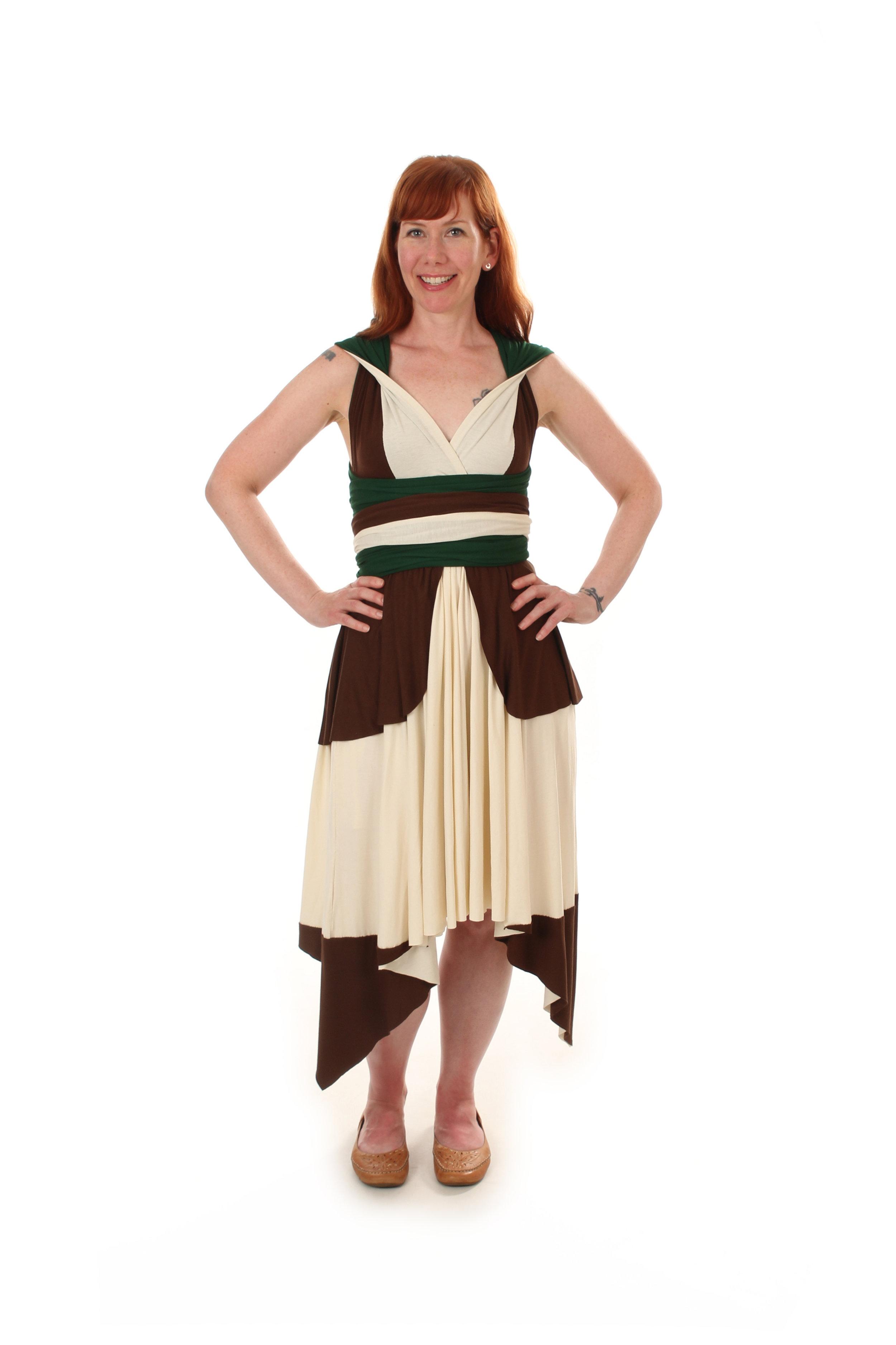 Captain Levi Inspired Convertible Dress