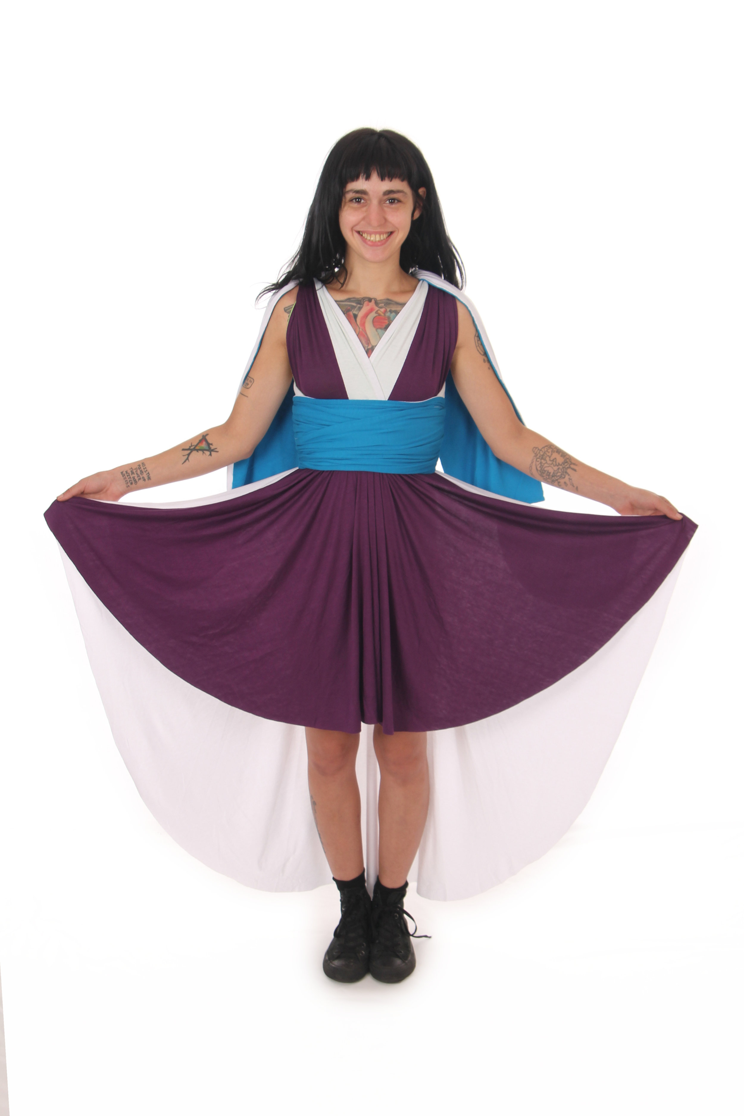 Piccolo Inspired Convertible Dress