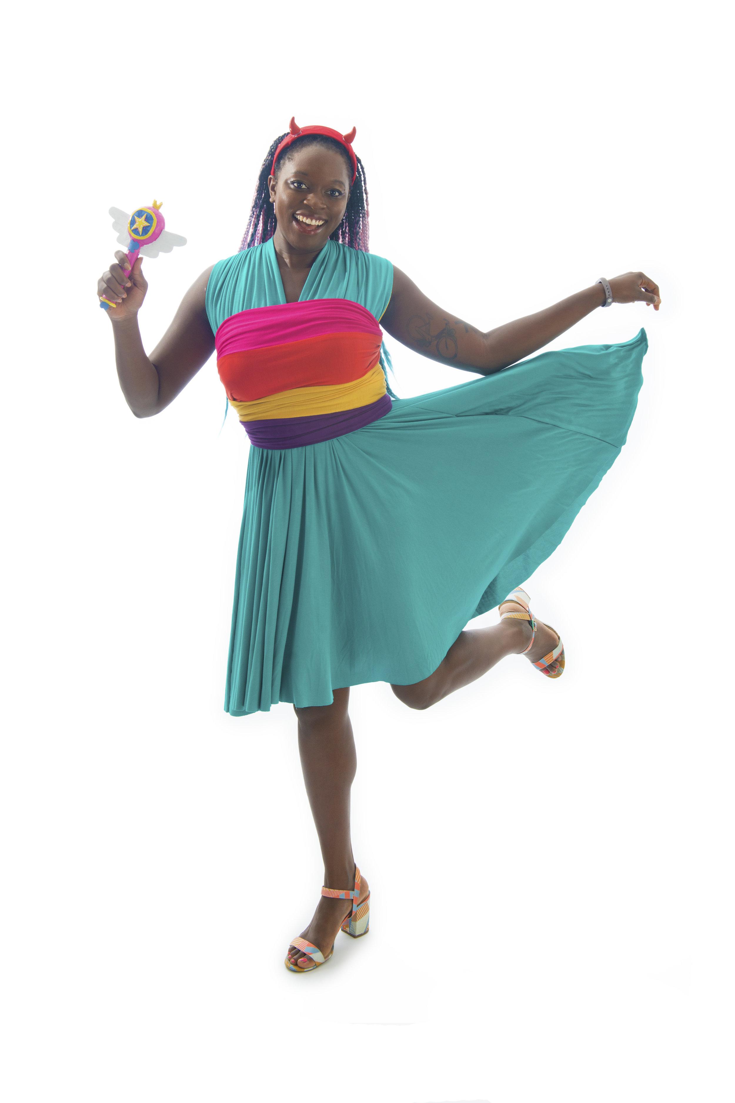 Princess Star Inspired Convertible Dress
