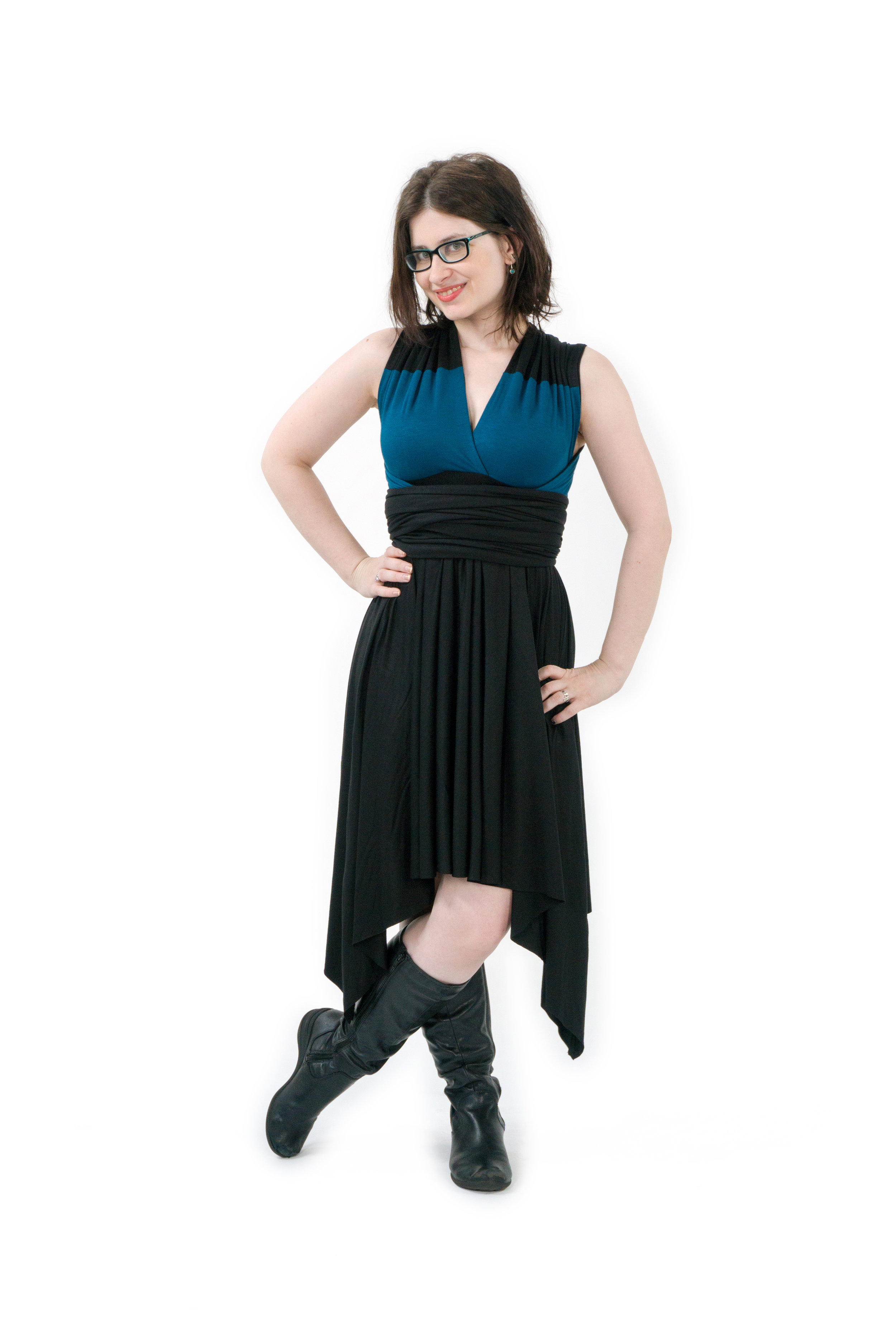 Science Officer Inspired Convertible Dress