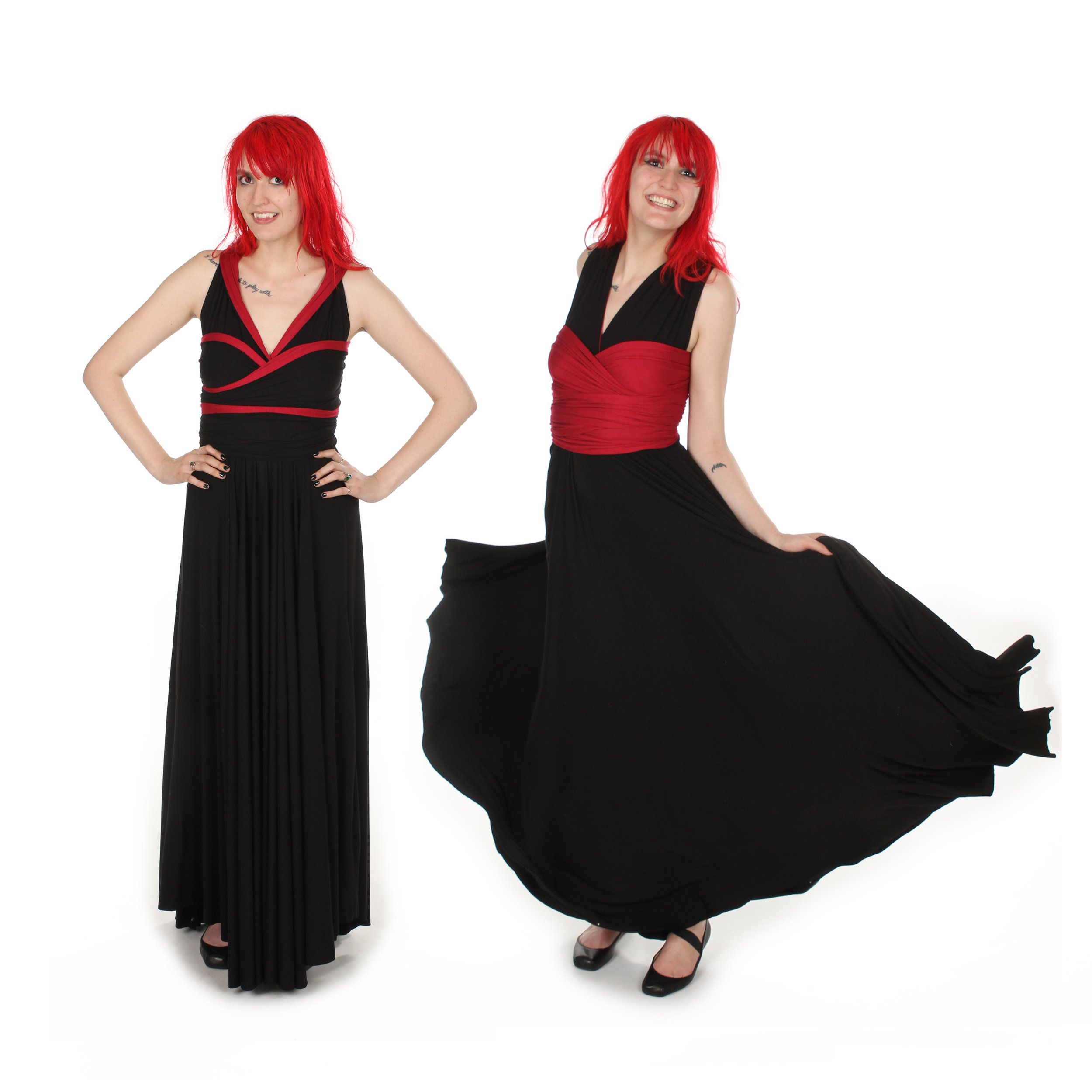 Sunnydale Witch Inspired Convertible Dress