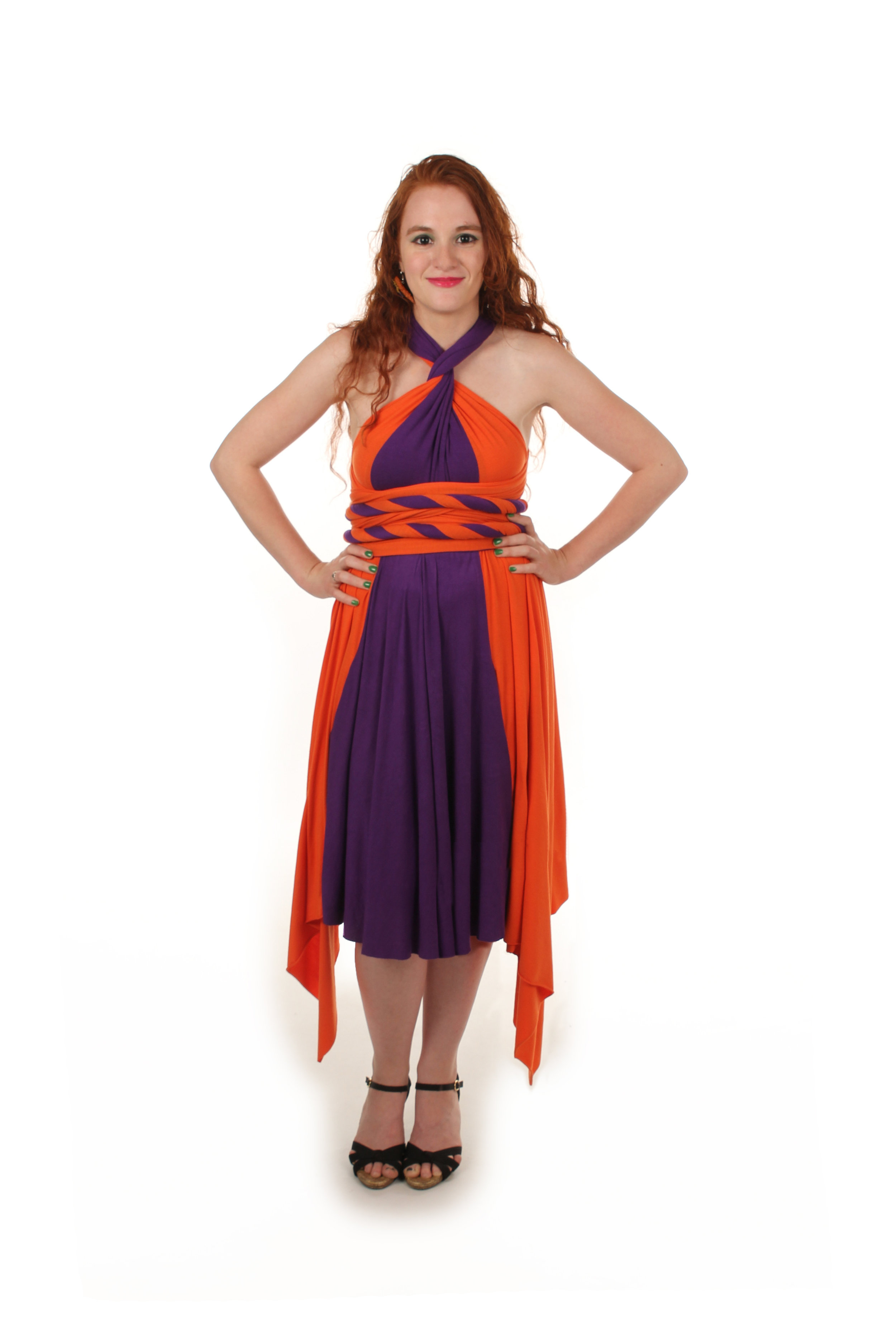 Radiation Superhero Inspired Convertible Dress