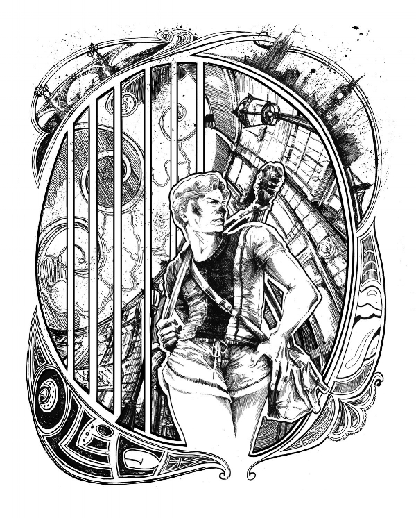 Frontispiece for 'ollie'