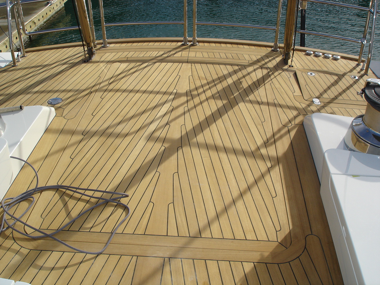 Teak FEQ Quarter Sawn Decking