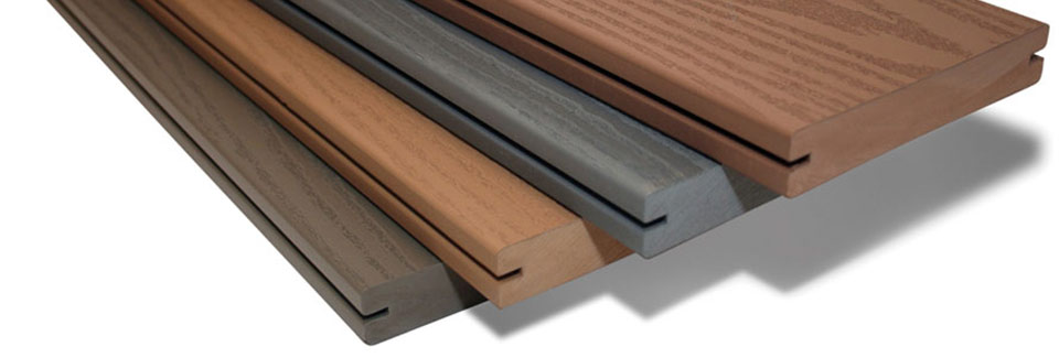 Composite Decking Material. Source:  Architecture and Design