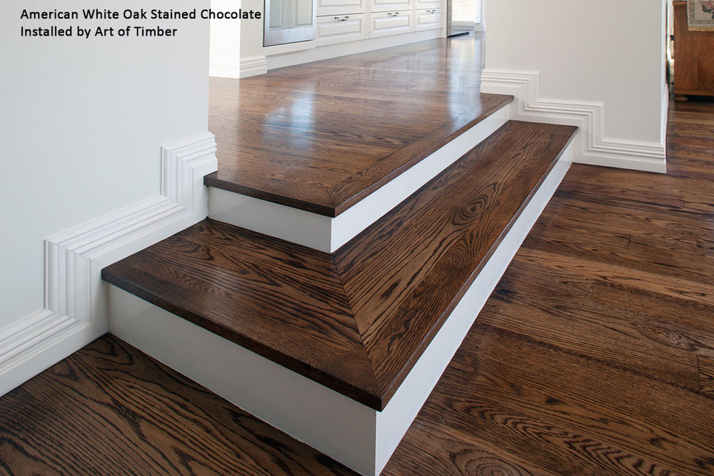 American White Oak Timber Flooring