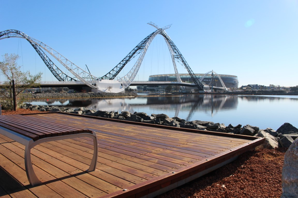 Swan River Deck Platforms - Recycled Spotted Gum