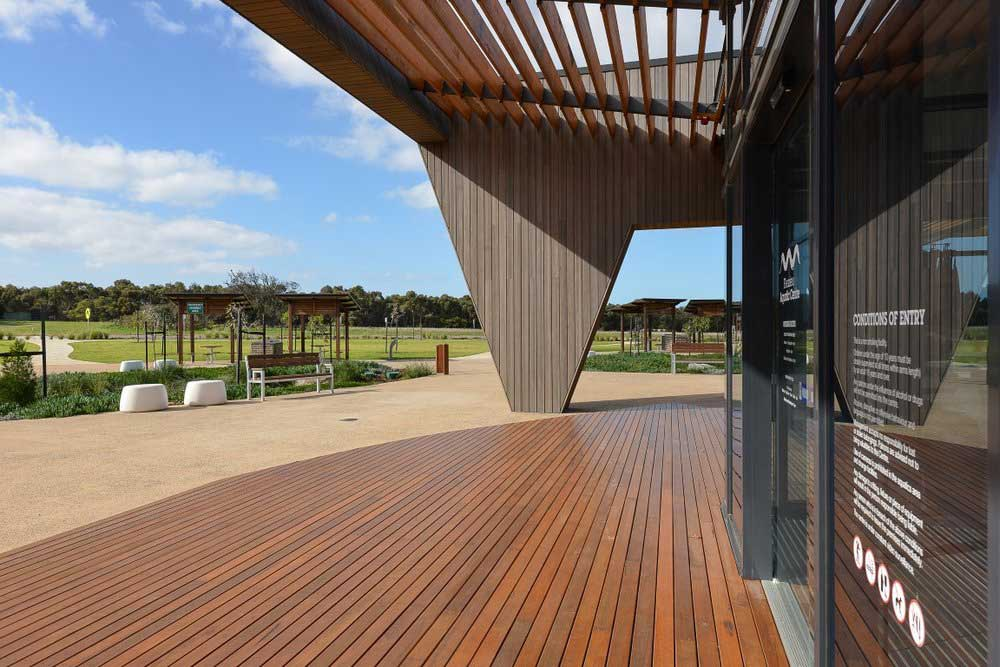 Decking Timber Cladding Project