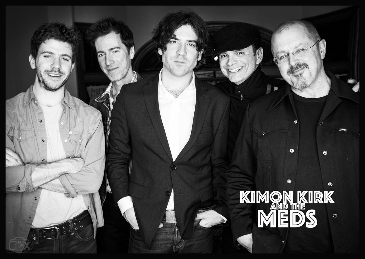 Photo by Topher Cox. L-R: Lyle Brewer, Jamie Edwards, KK, Jim Haggerty, John Sands