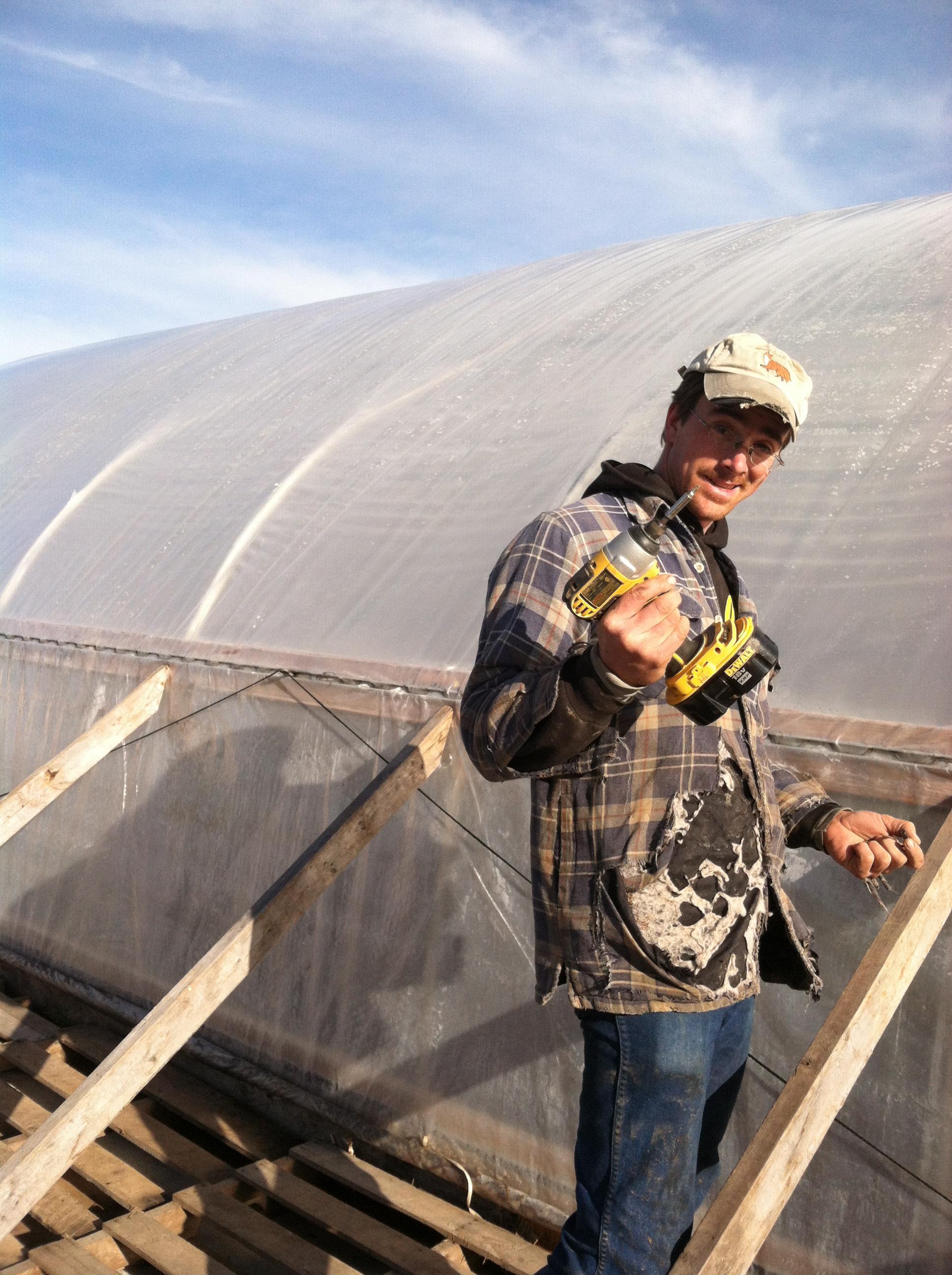 Farmer Josh making it happen