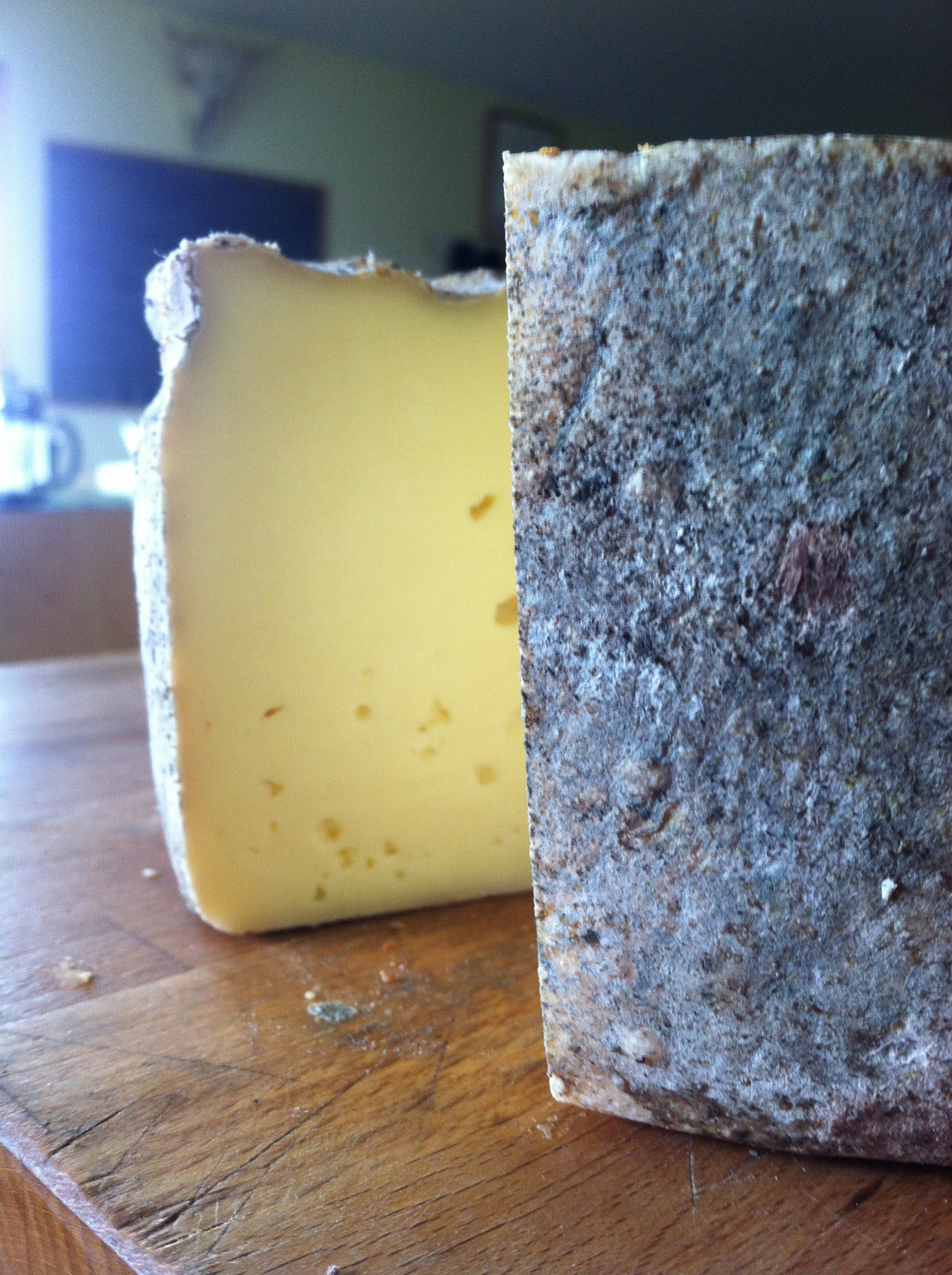 and we are feasting on yummy cheese from our farm while we wait for the veggies to grow!