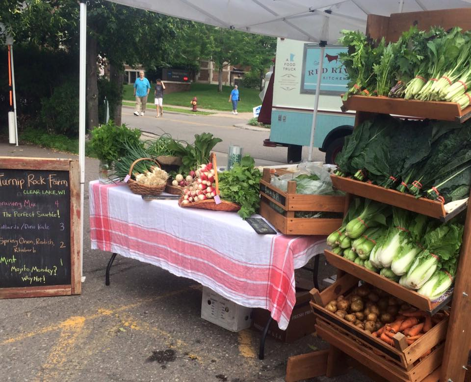 Linden Hills Market stand.  Sunday from 9-1.  Come visit us!. We have cheese for sale, too!
