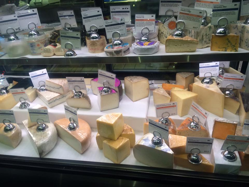 Wedge & Wheel cheese case