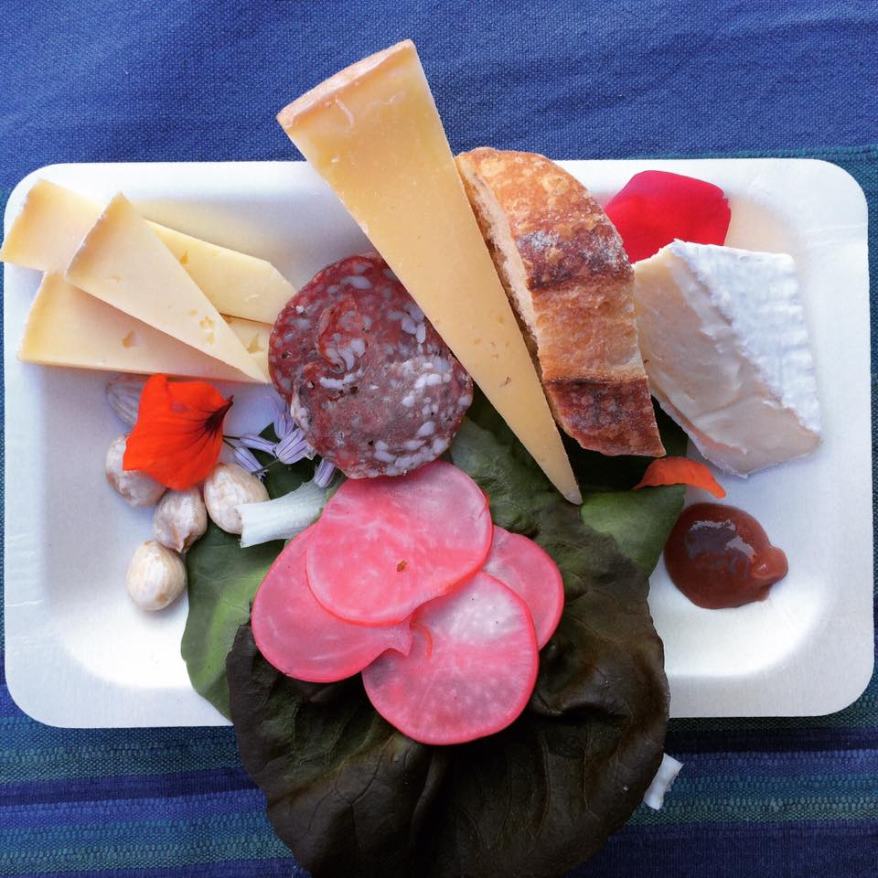 pretty Cosmic Wheel Cheese Plate