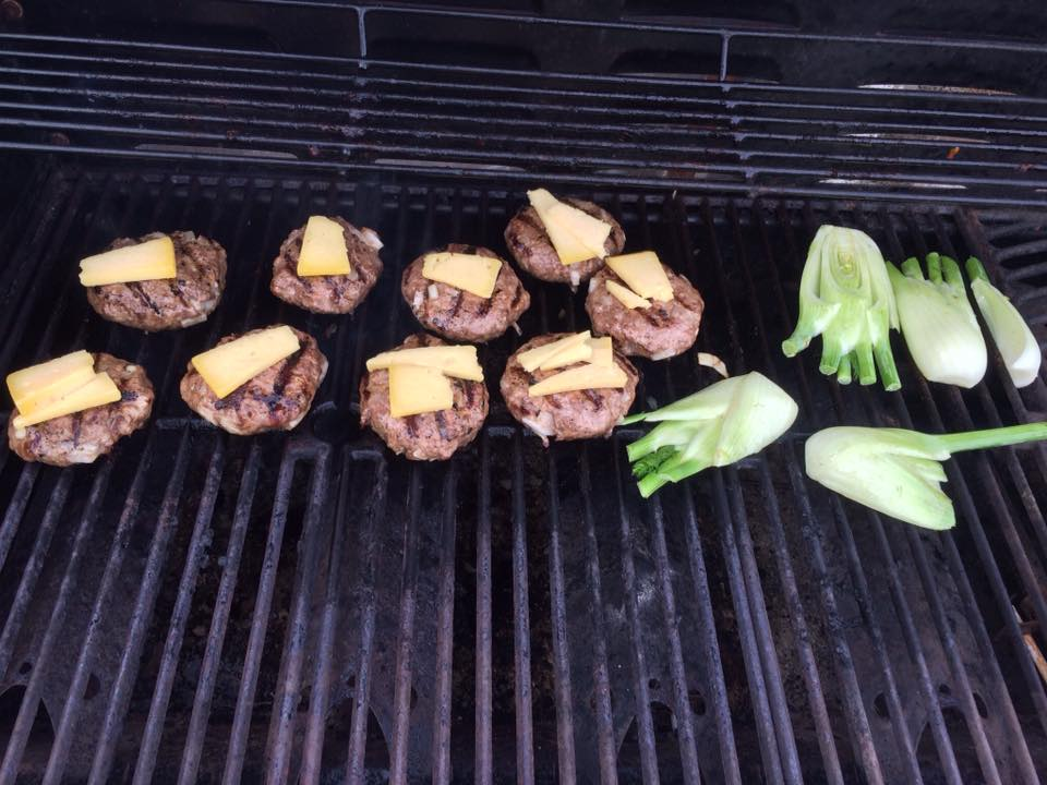 Cheese Burgers and Grilled Fennel!