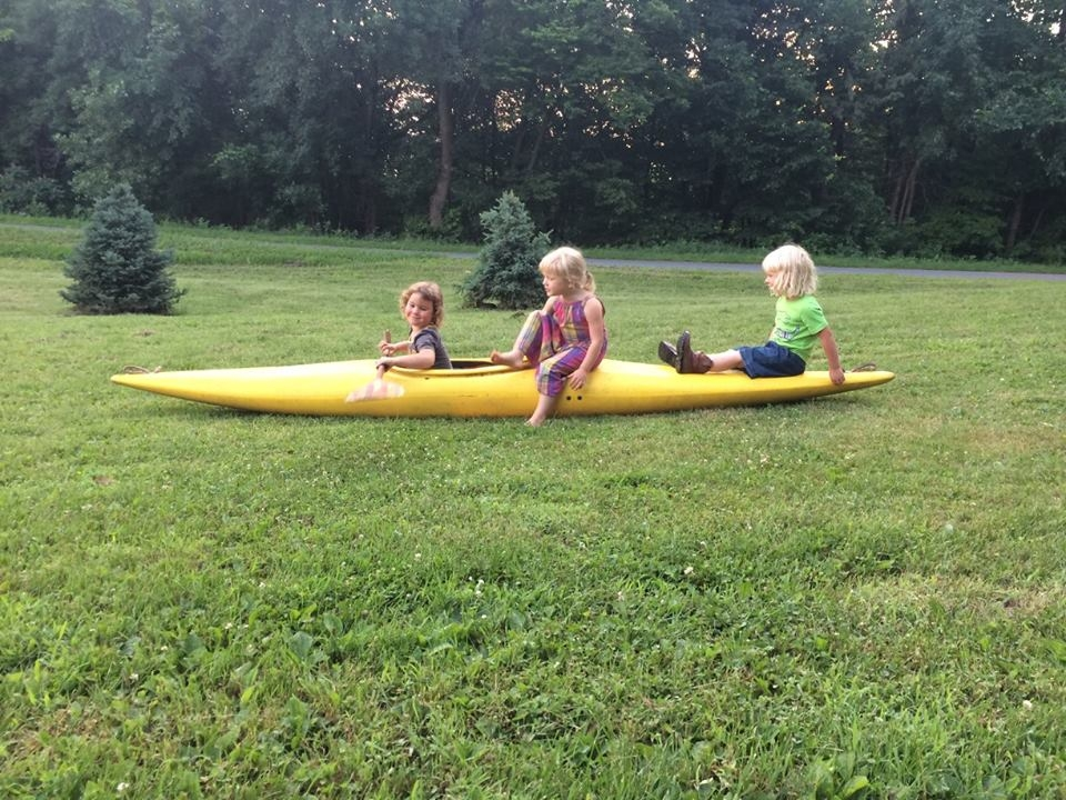 Turnip Rock, Blackbrook, and Whetstone farm kids on an adventure