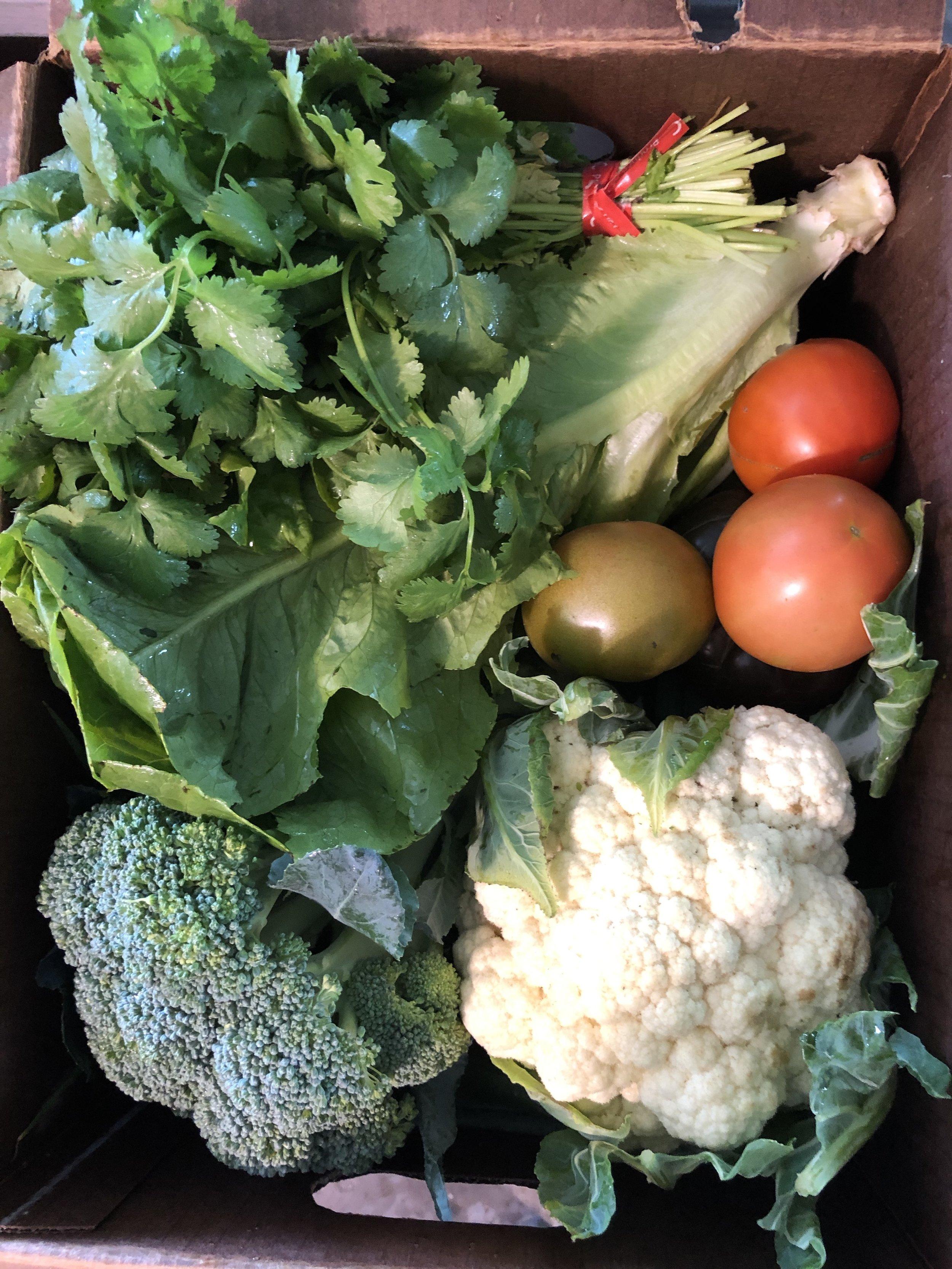 enjoy your veggies!