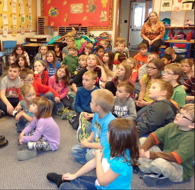 They were extremely attentive,polite,interested, and inquisitive. Look at those faces!