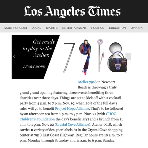 LA Times | Online | December 2015