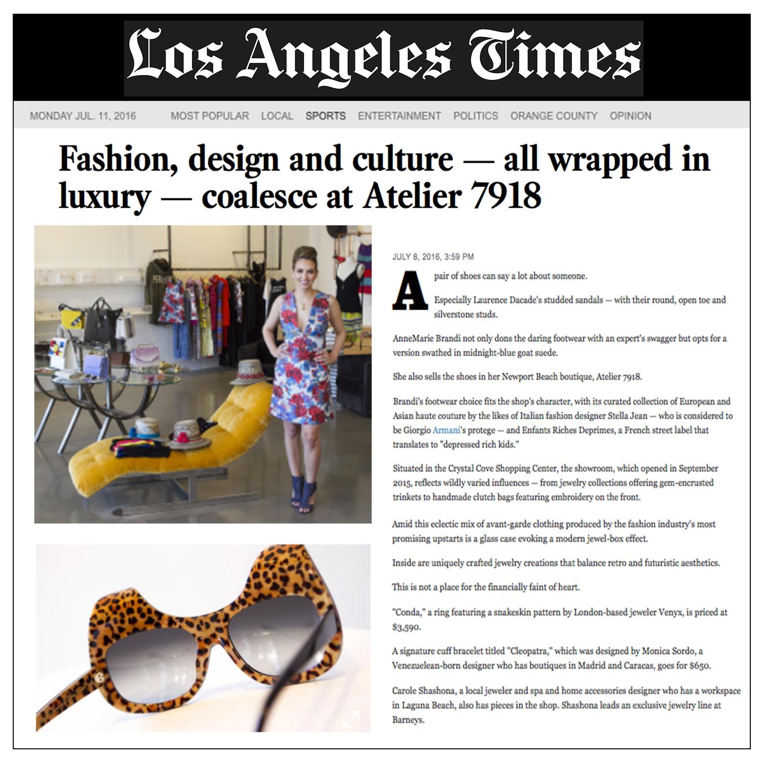 L.A Times | U.S | July 2016