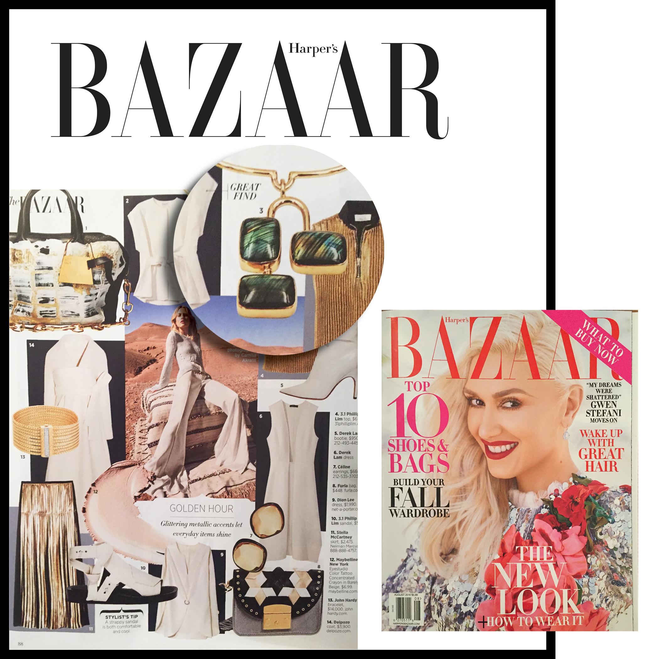 Harper's Bazaar | U.S | August 2016