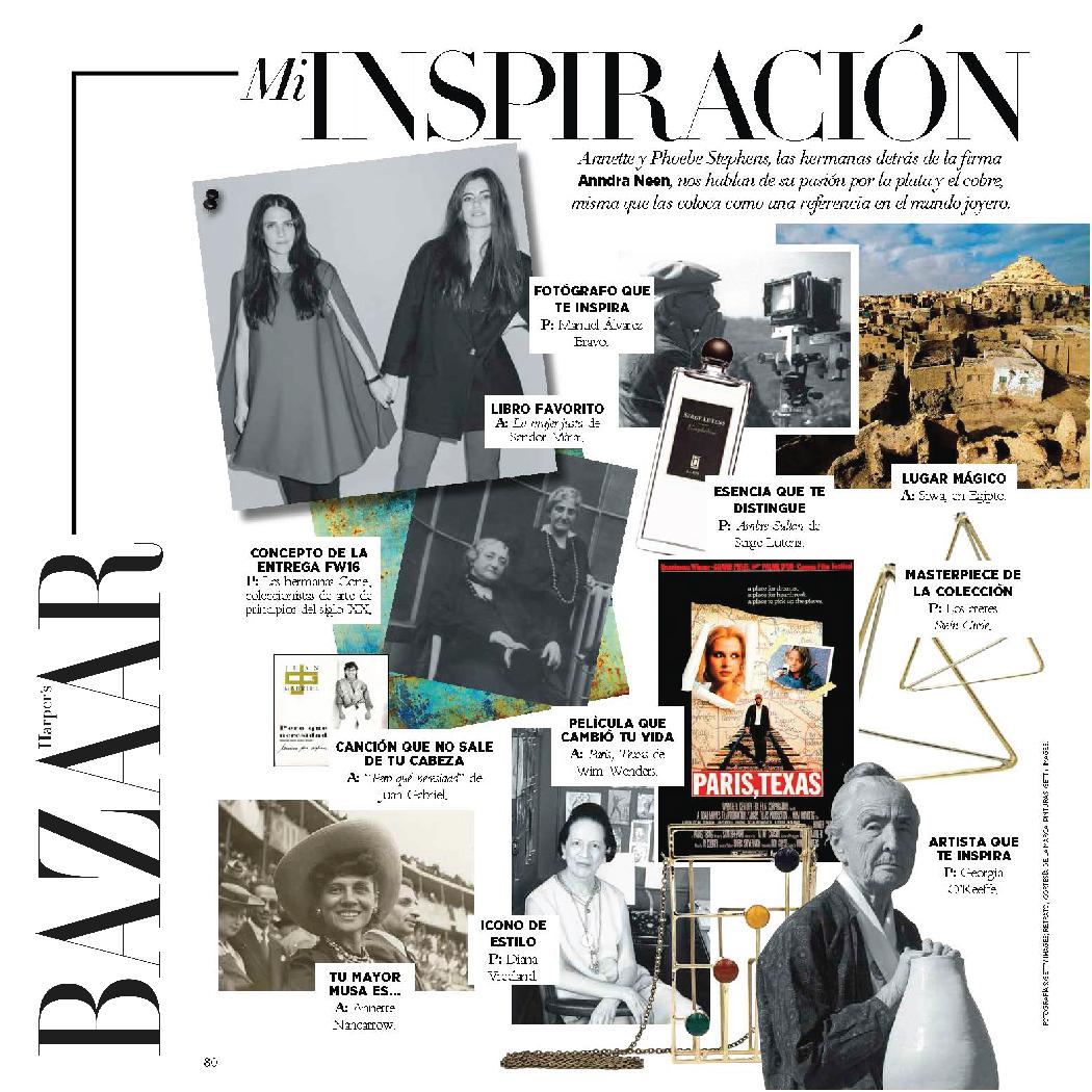Harper's Bazaar  | Mexico | October 2016