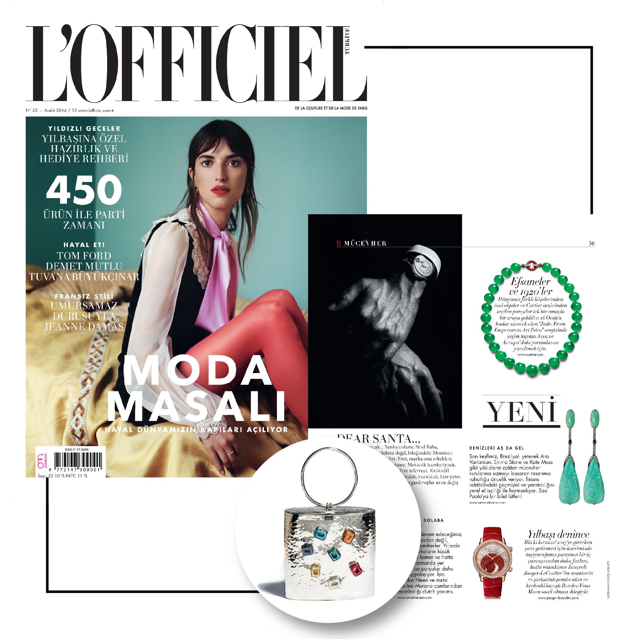 L'Officiel | December 2016 | Anndra Neen