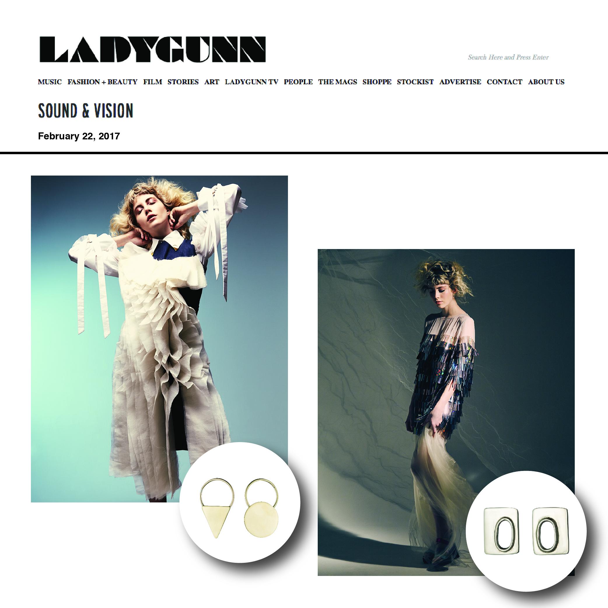 LADYGUNN online | Feb.2017 | Anndra Neen