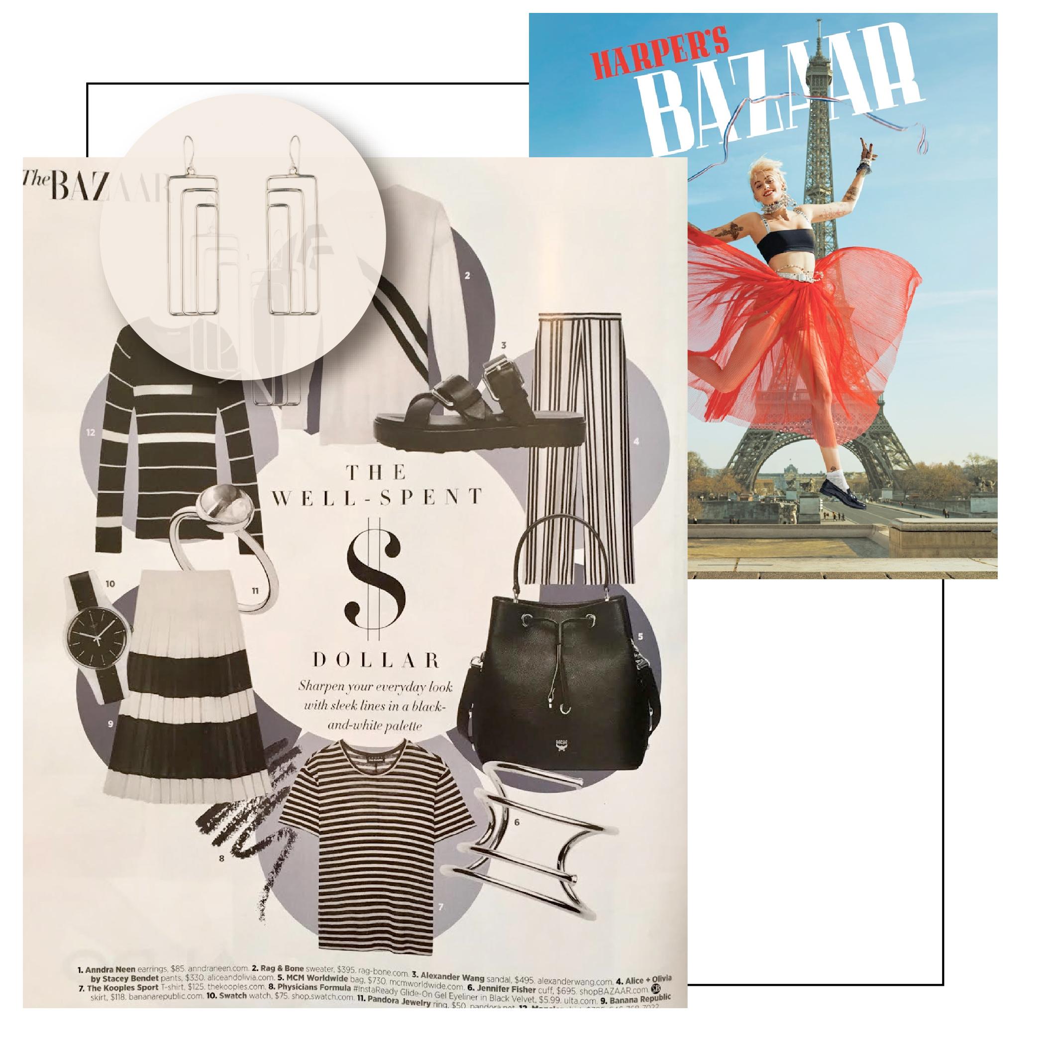Bazaar U.S | April 2017 | Anndra Neen