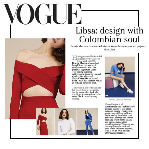 July 2017 | Vogue Mexico | Libsa