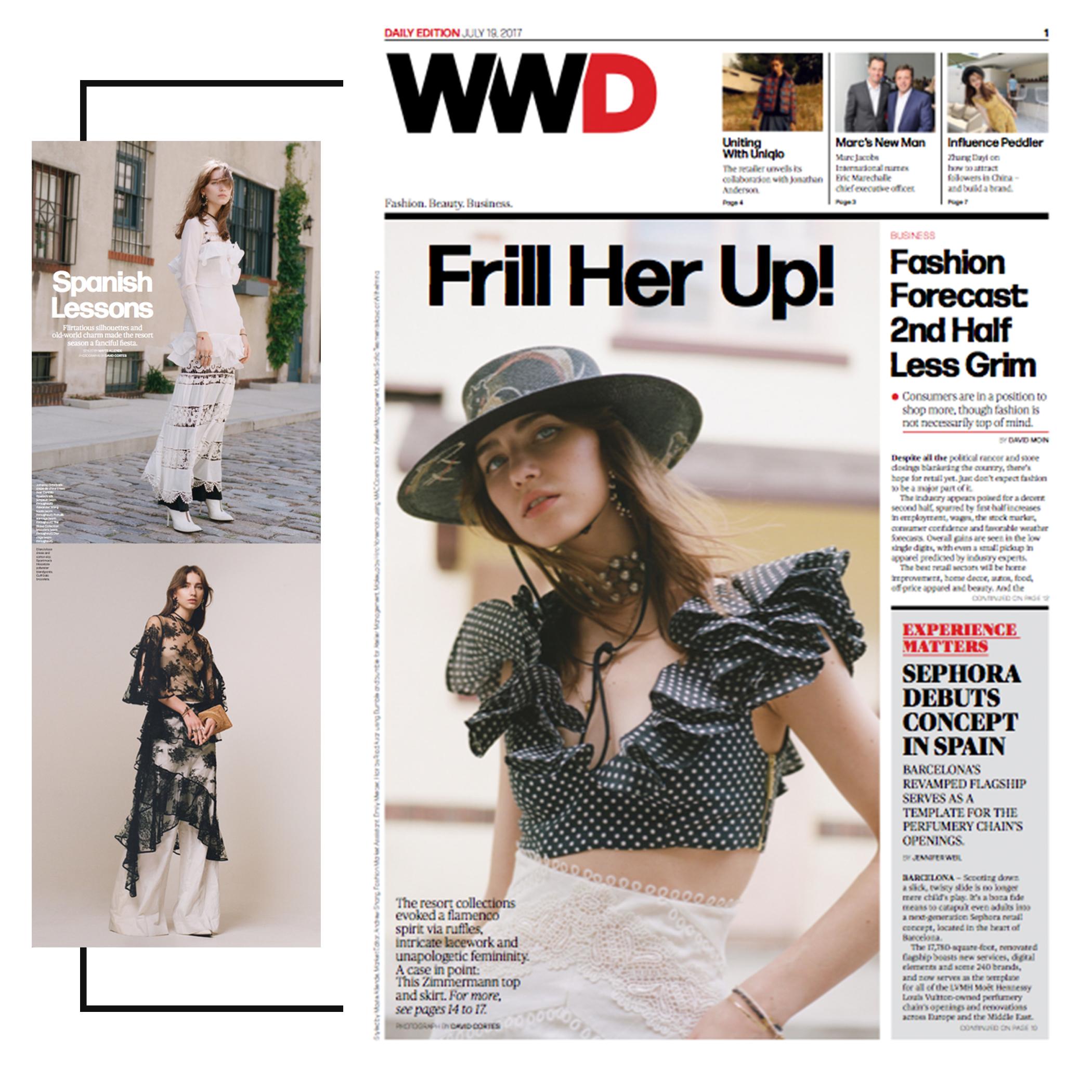 WWD | July 2017 | Pichulik