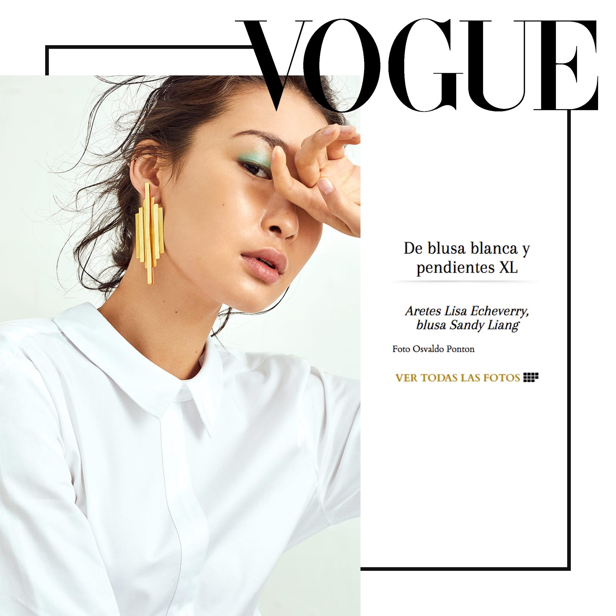 Vogue Mexico | July 2017 | Lisa Echeverry