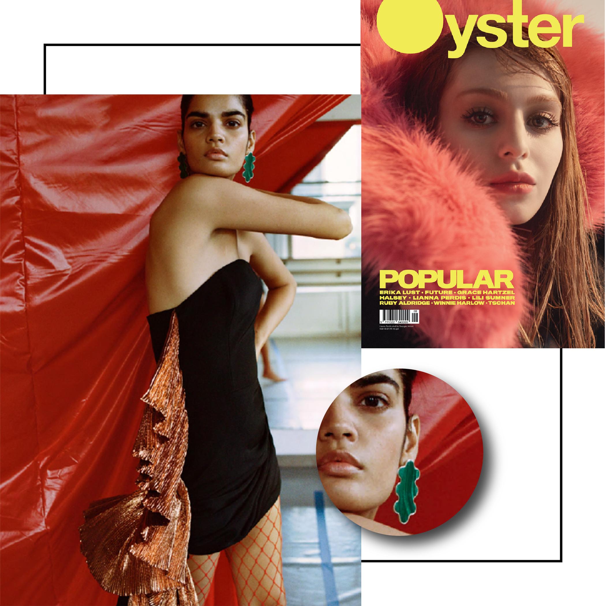 Oyster Magazine | November 2017 | Gala Is Love