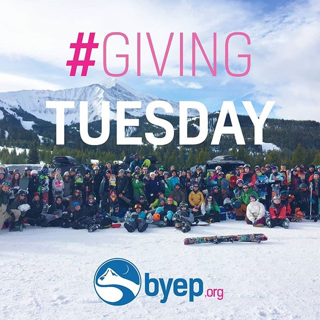 It's Giving Tuesday!! The Quest Foundation gave us a $56k match, meaning that all donations today will make double the impact!! Please consider supporting BYEP by visiting BYEP.org! 😊❤️😊